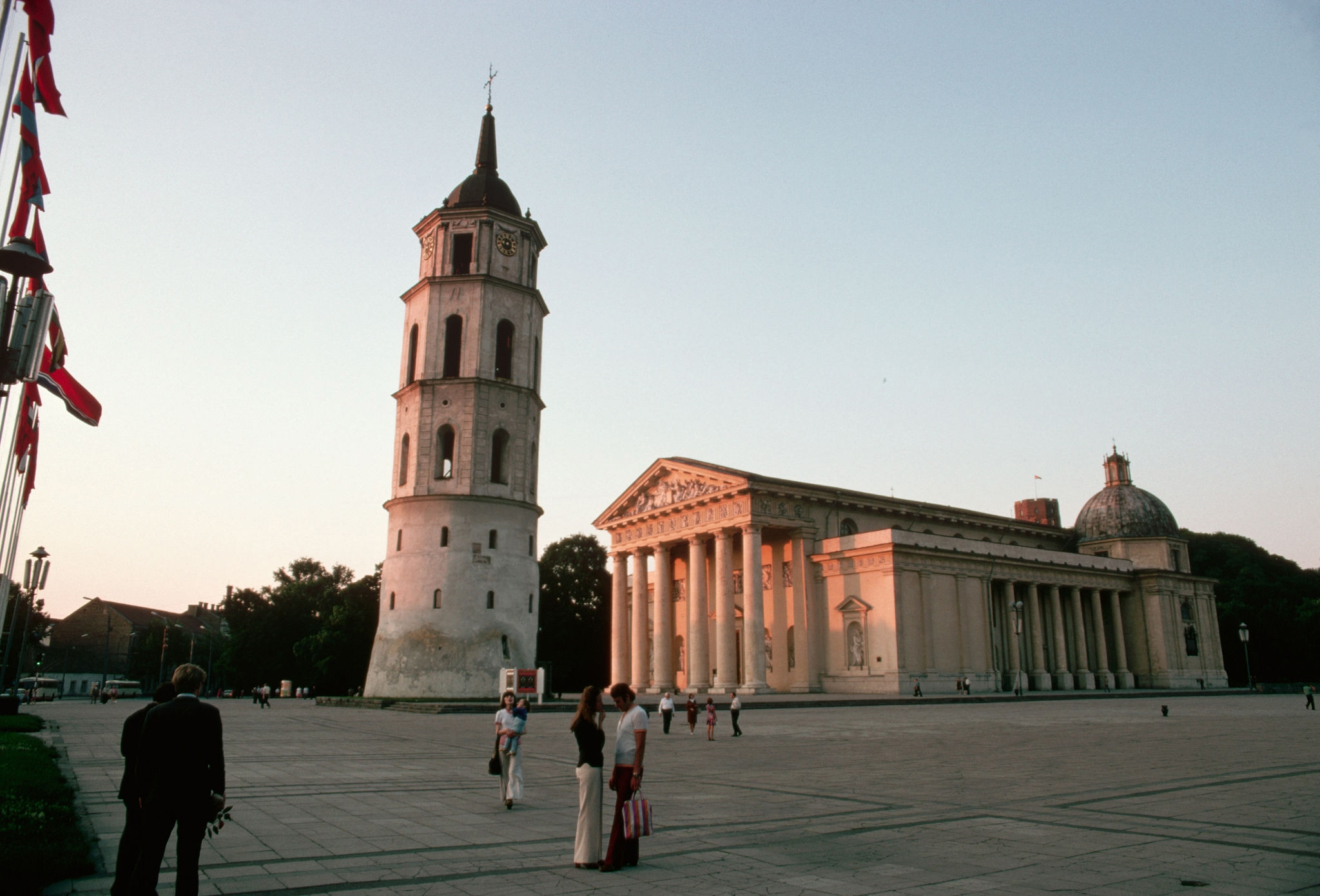 1972. Вильнюс. Кафедральный собор