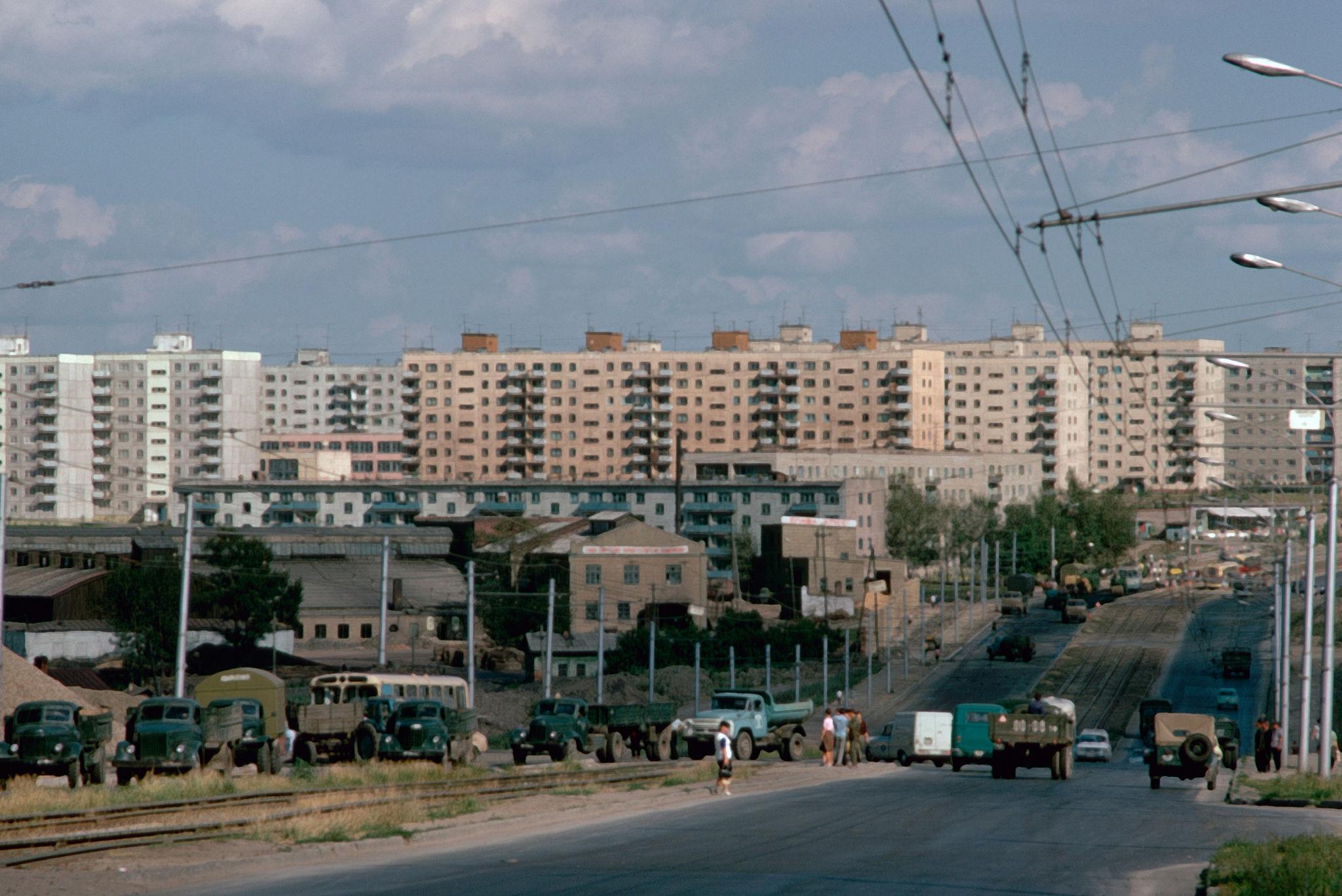 1974. Новосибирск. Улица Кошурникова