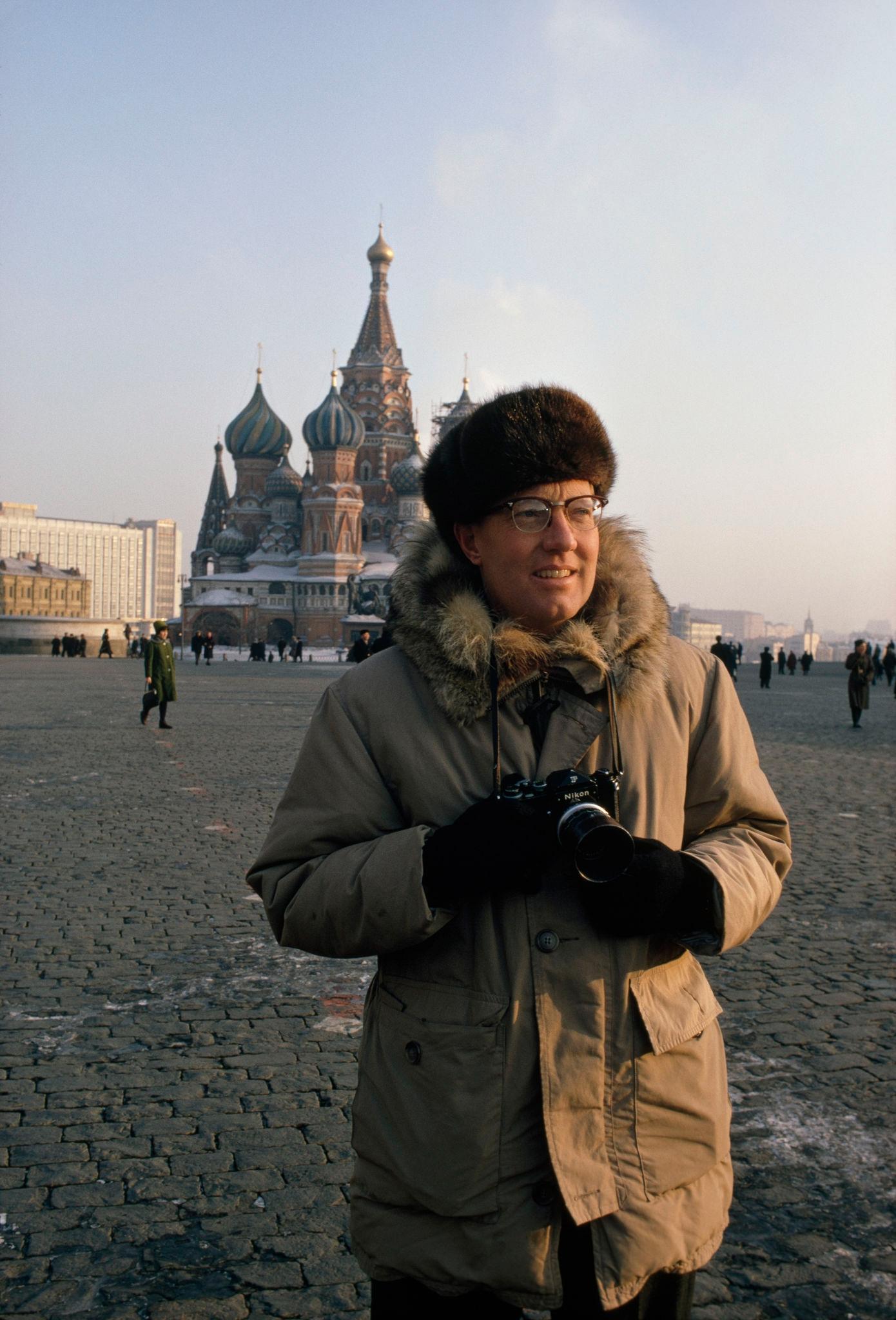 1977. Дин Конгер на Красной площади