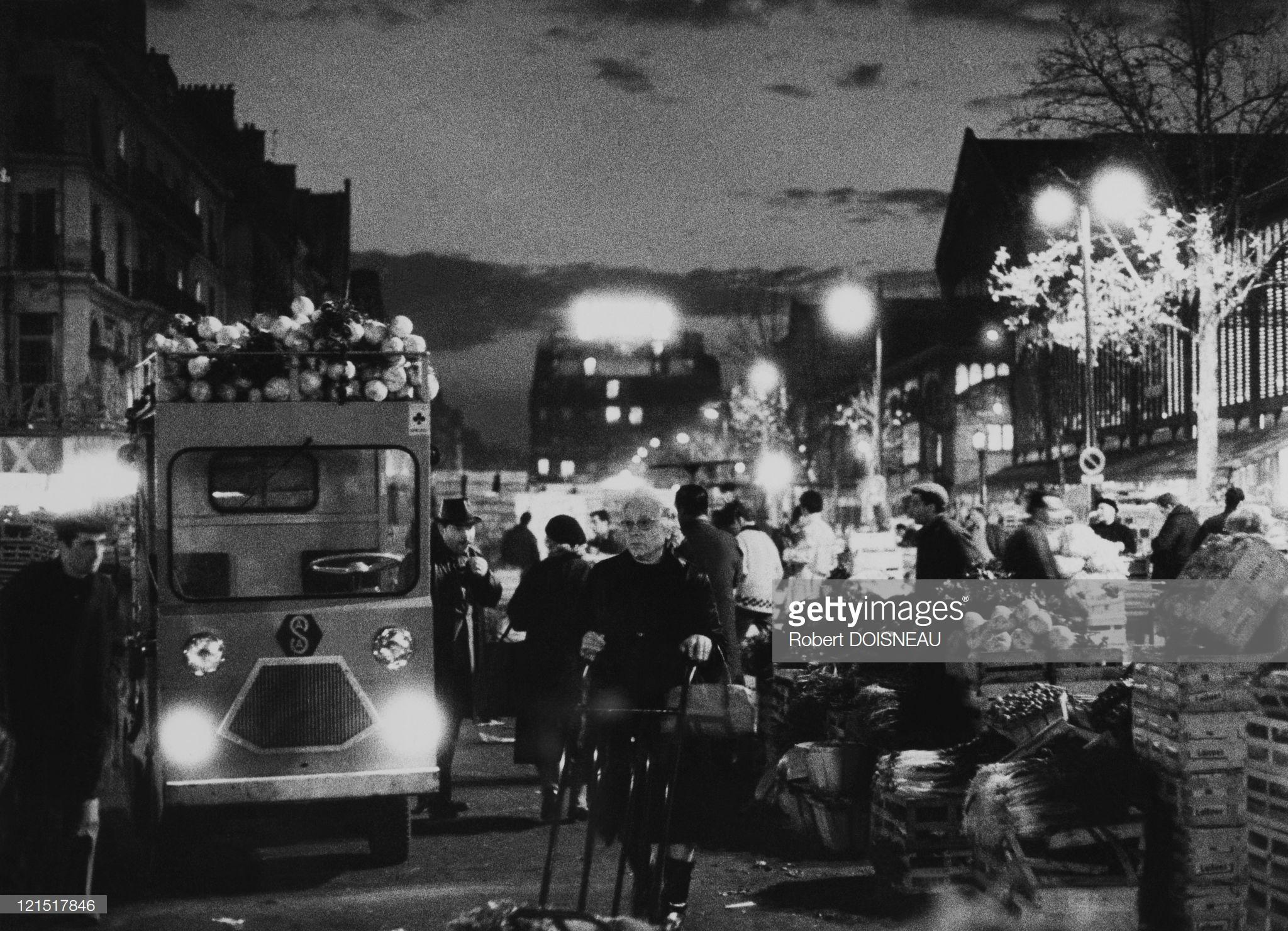 1950. Ле-Аль. Рассвет оптовых торговцев