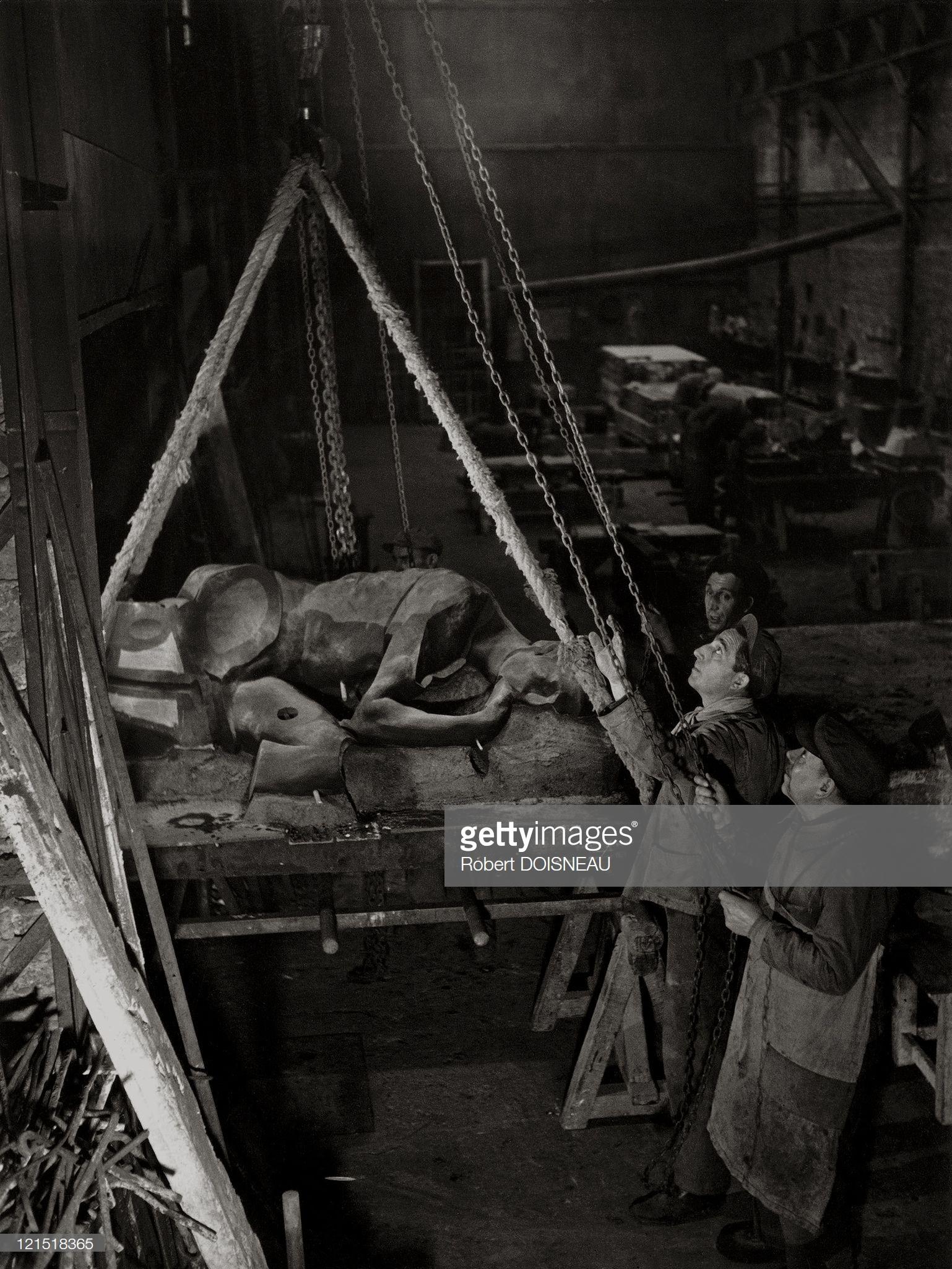 1950. Студия Рудье