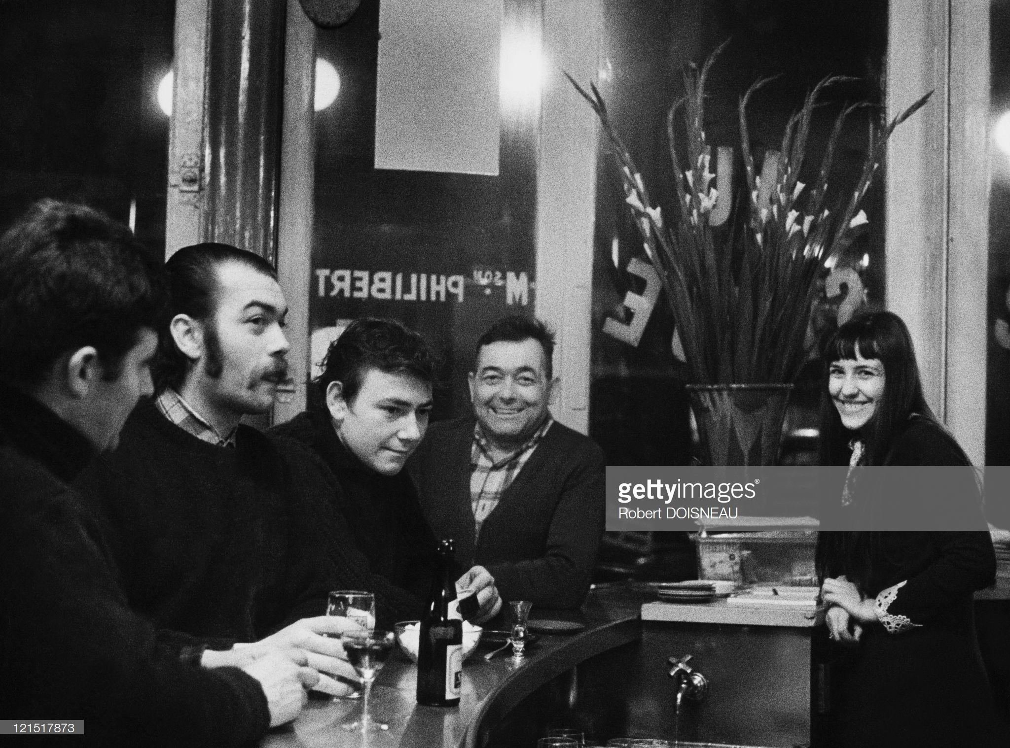 1960. Ле Аль. В баре