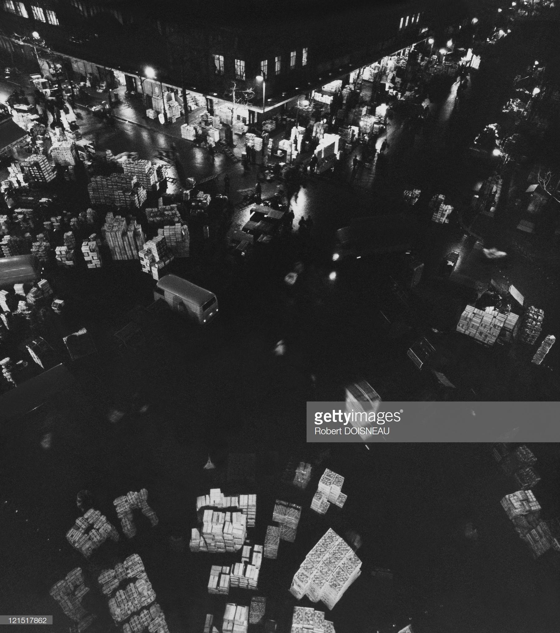 1960. Ле-Аль. Торговый перекресток