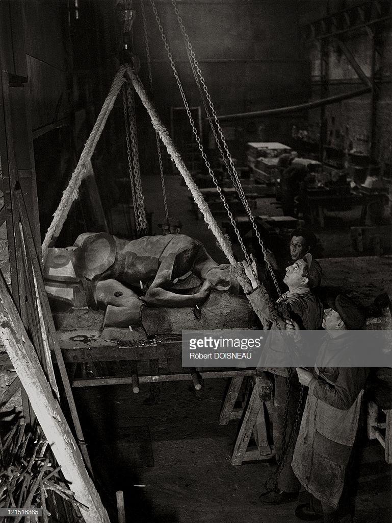 1950. Студия Рудье, Малакофф