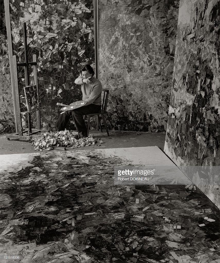 1956. Канадский художник и скульптор Жан-Поль Риопель