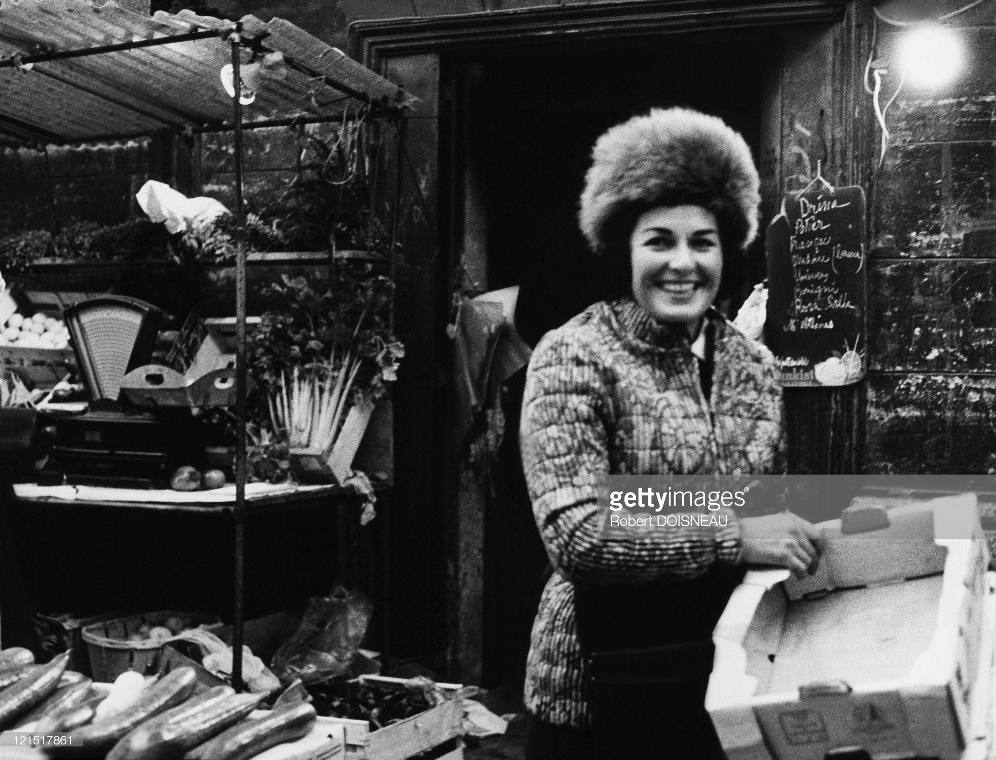 1960. Оптовый торговец фруктами и овощами