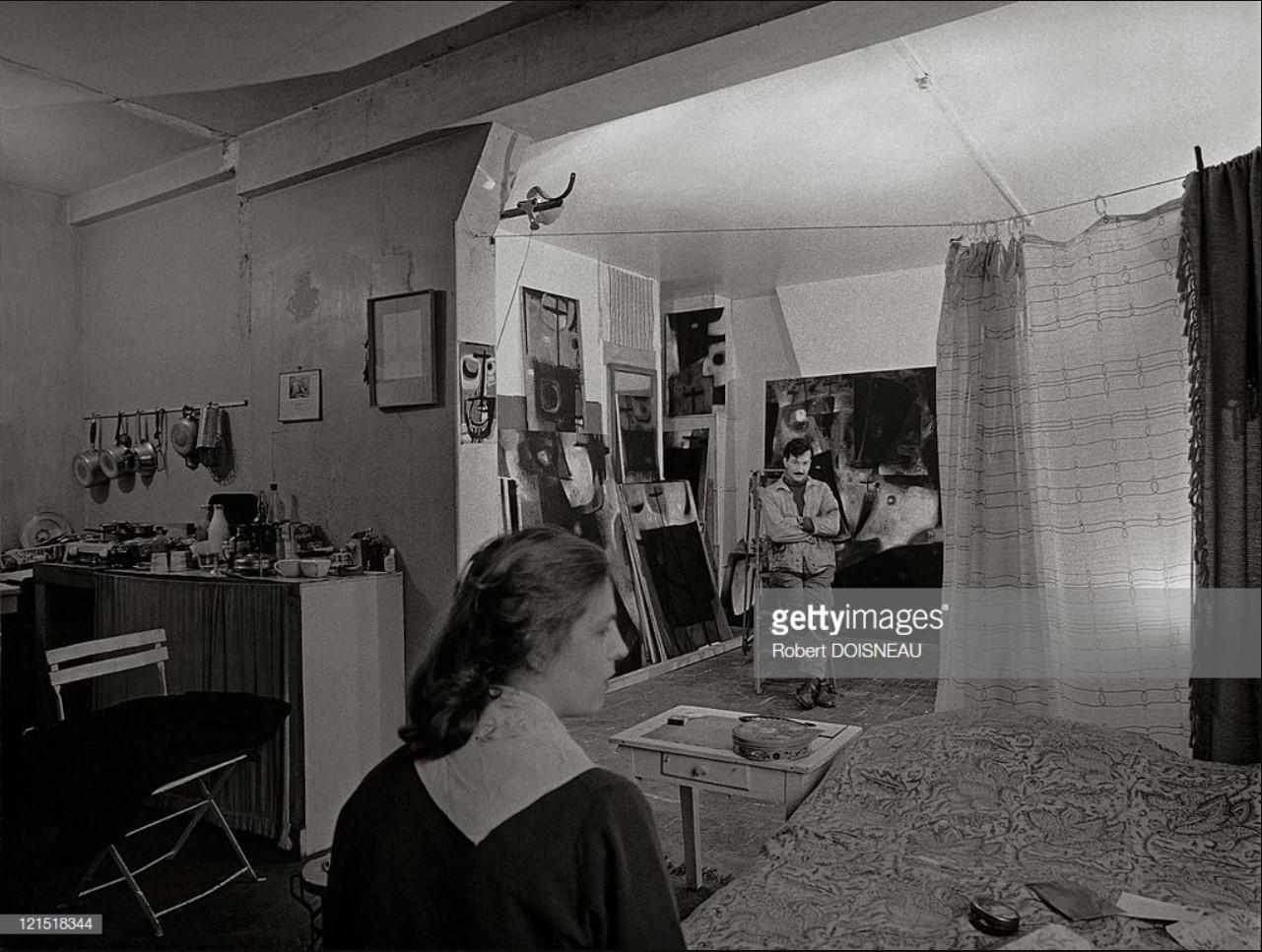 1959. Британский живописец Джон Кристофору