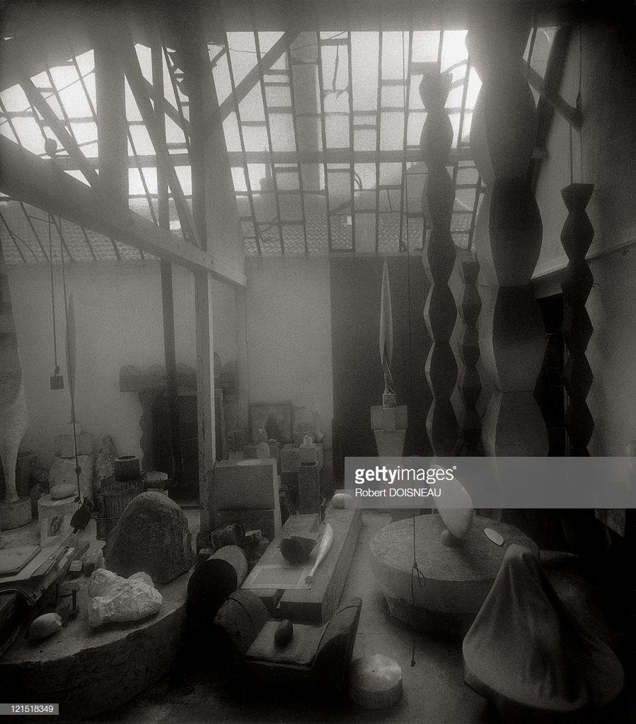 1960. Мастерская скульптора Константина Бранкузи
