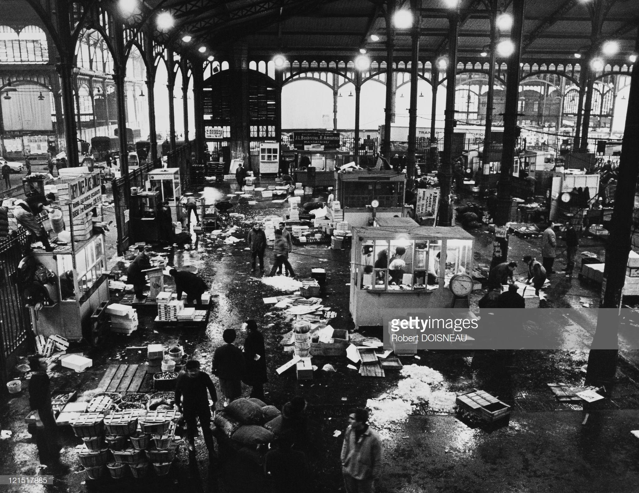 1969. Ле-Аль, Рыбный рынок переезжает. 12 марта