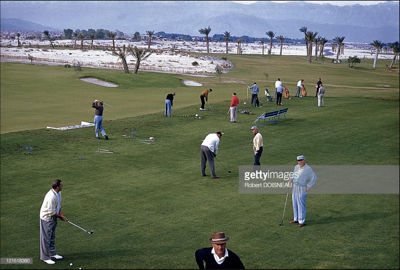 1960. Палм-спрингс. Игороки в гольф