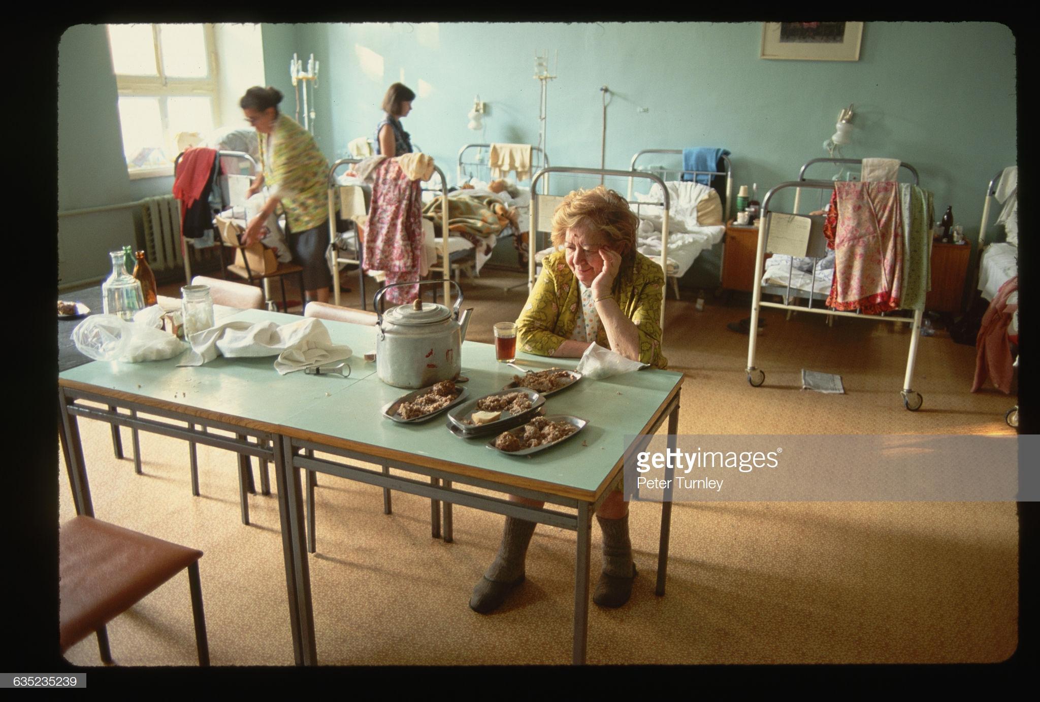 Обед в больнице