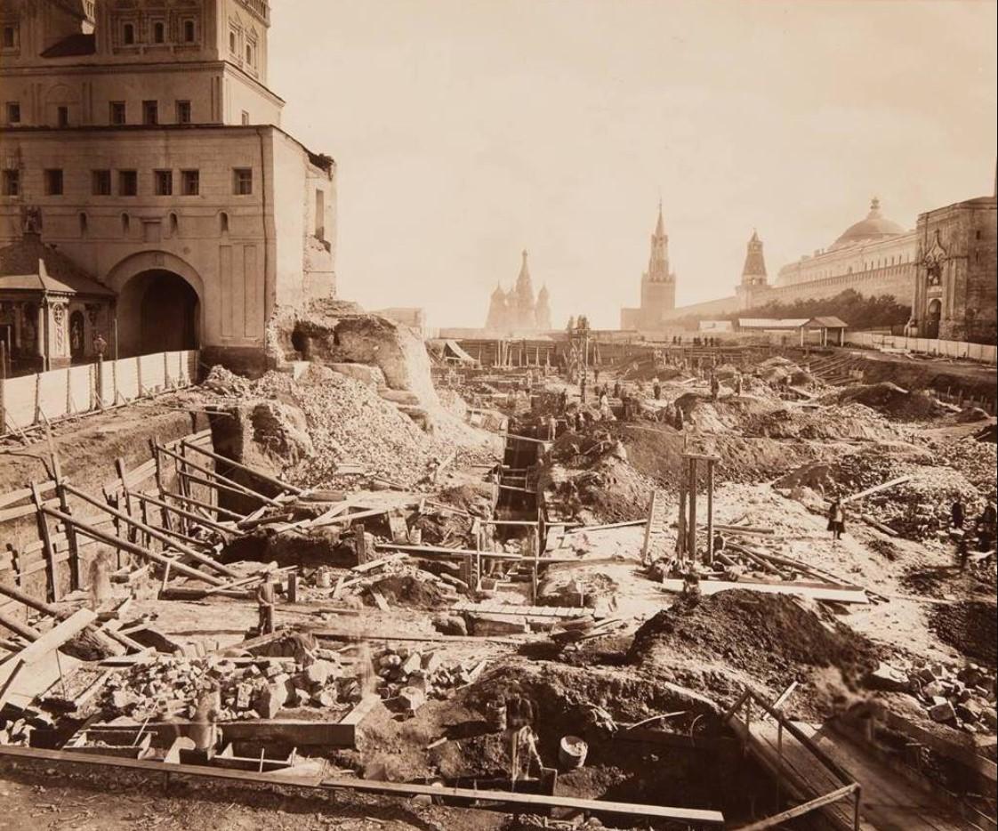 1870-е. Строительство здания Исторического музея