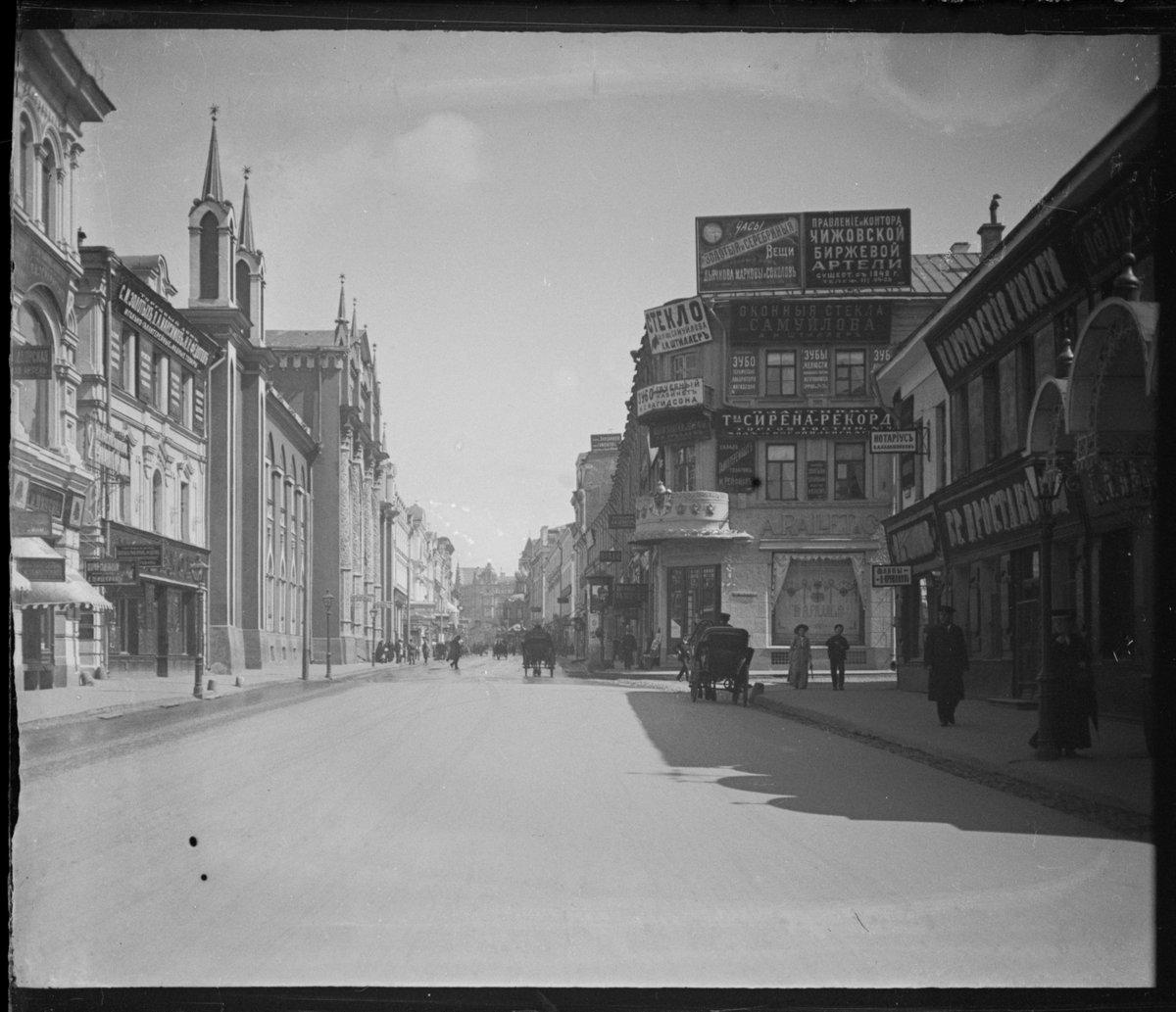 1900-е Никольская улица