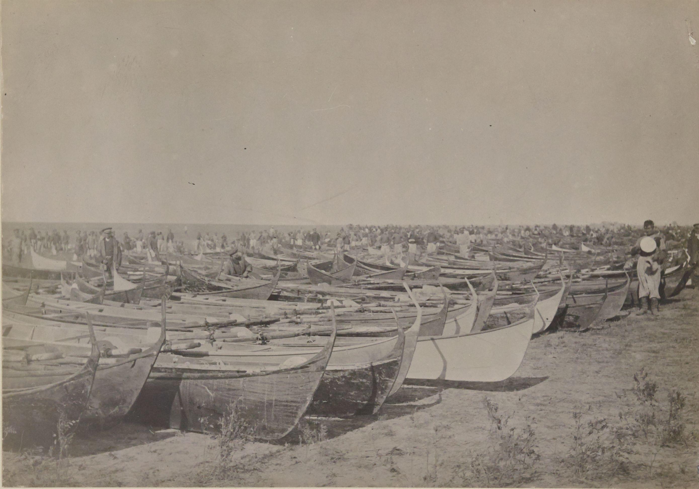 Уральск. Козачьи лодки