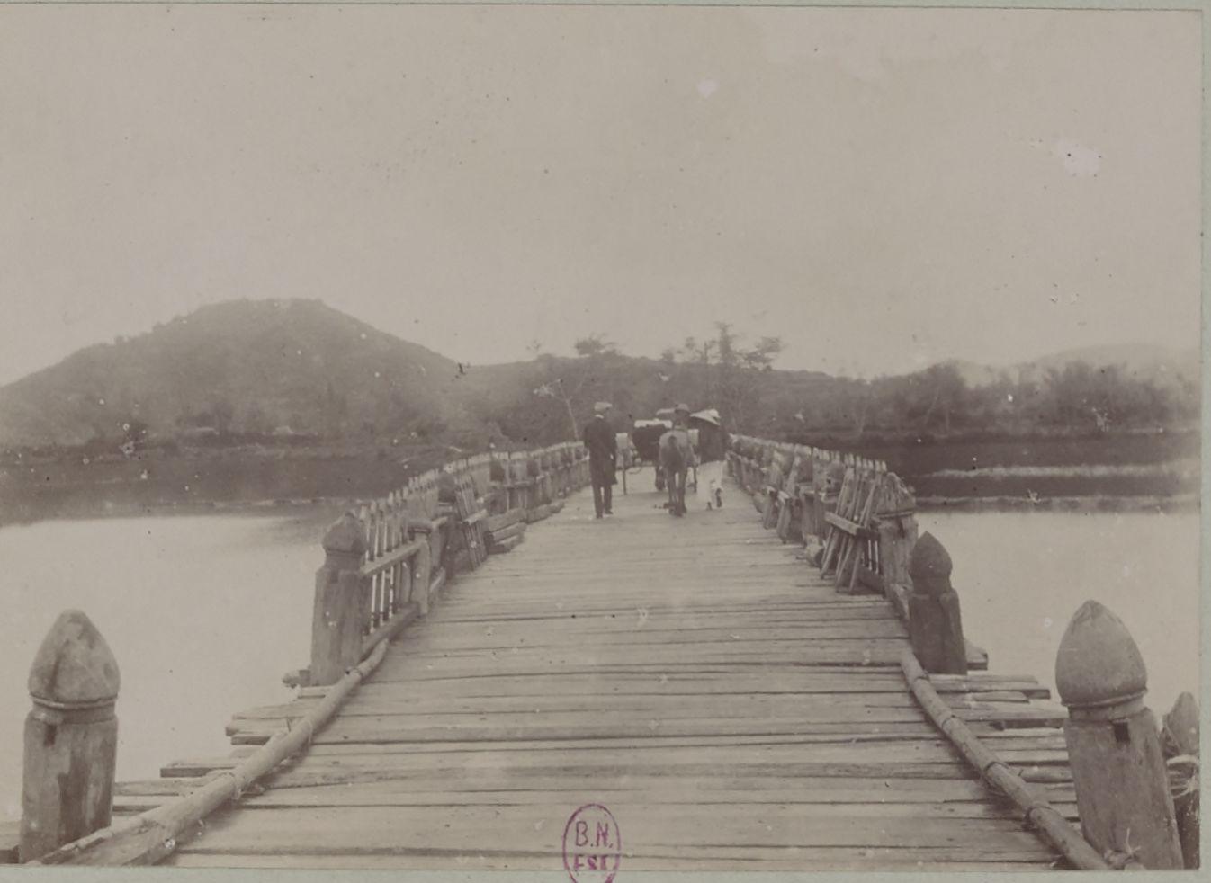 Аннамитский мост между Квай-Нхоном и Туи-Фуком