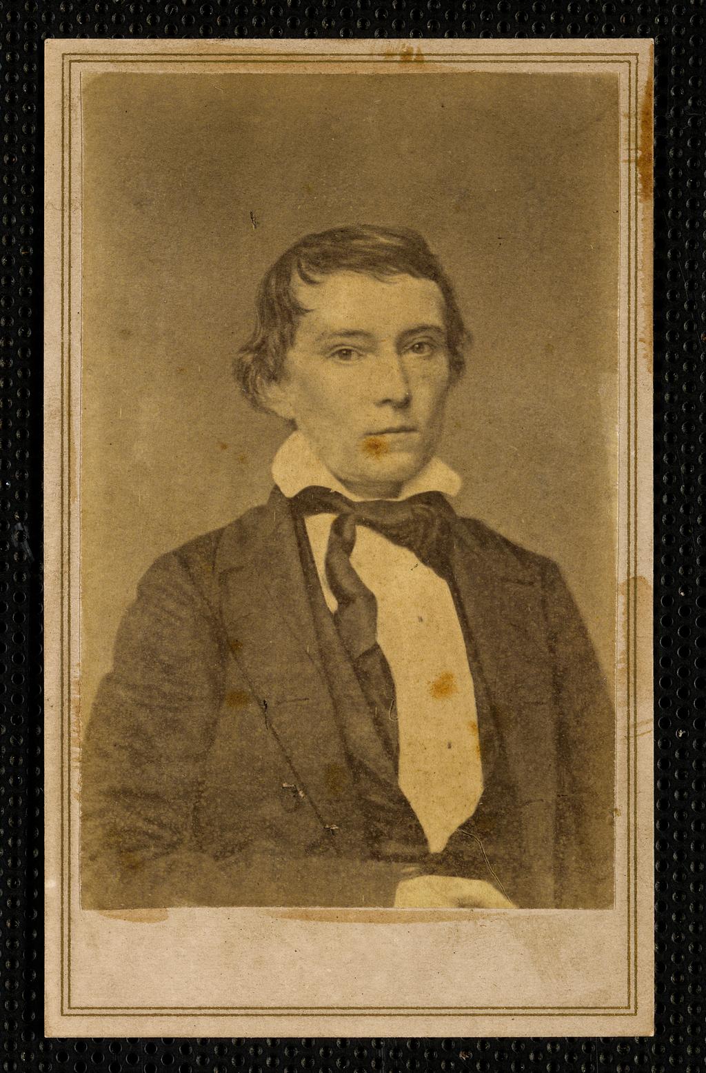 Вице-президент Конфедеративных Штатов Америки Александр Г. Стивенс
