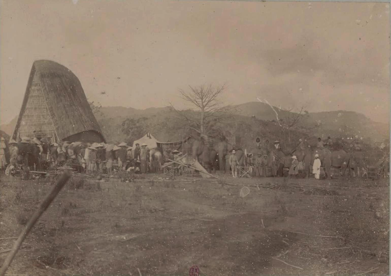 Наш лагерь в Тхакхэк