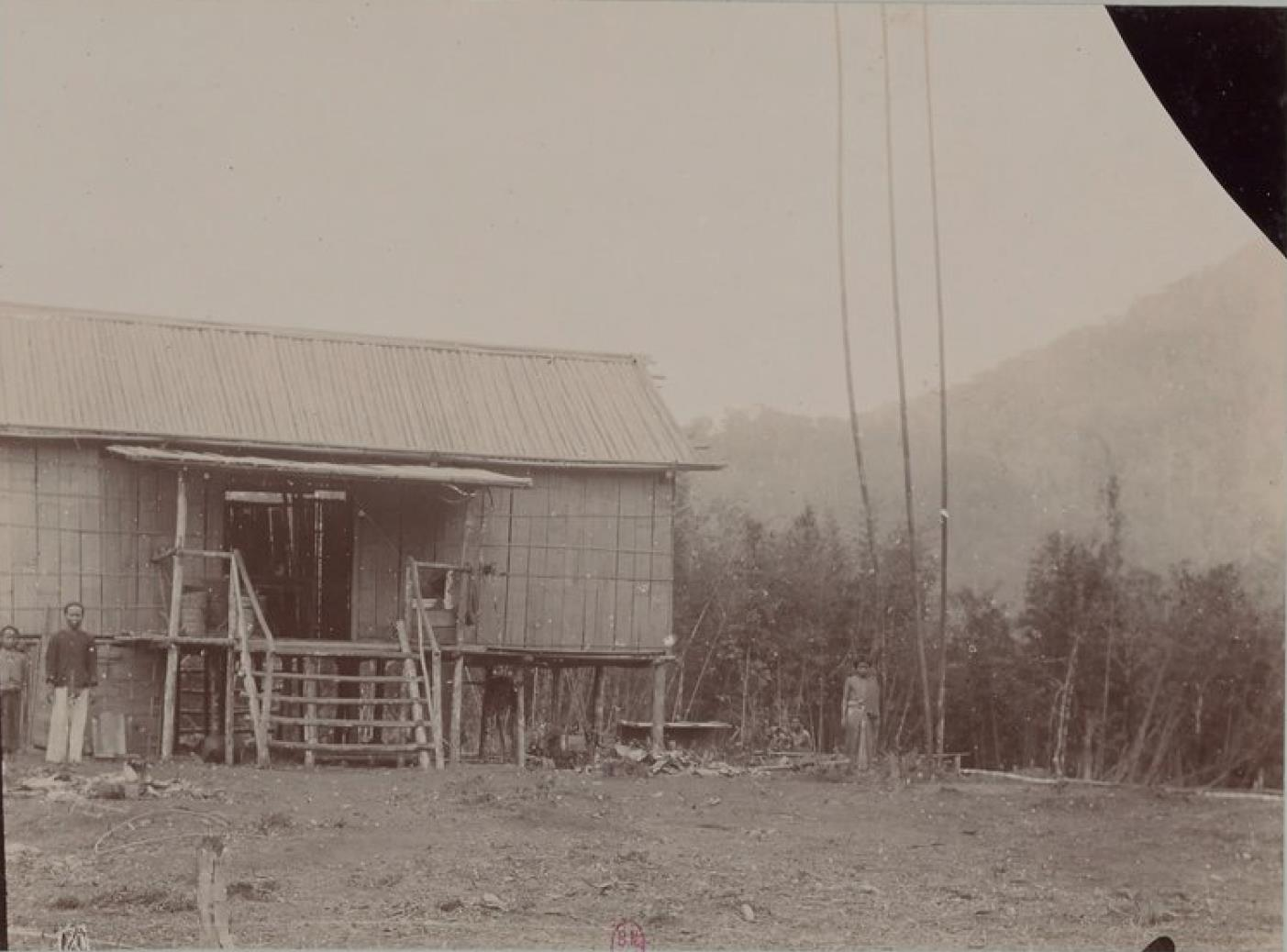 Дом шахтеров  в Такенге