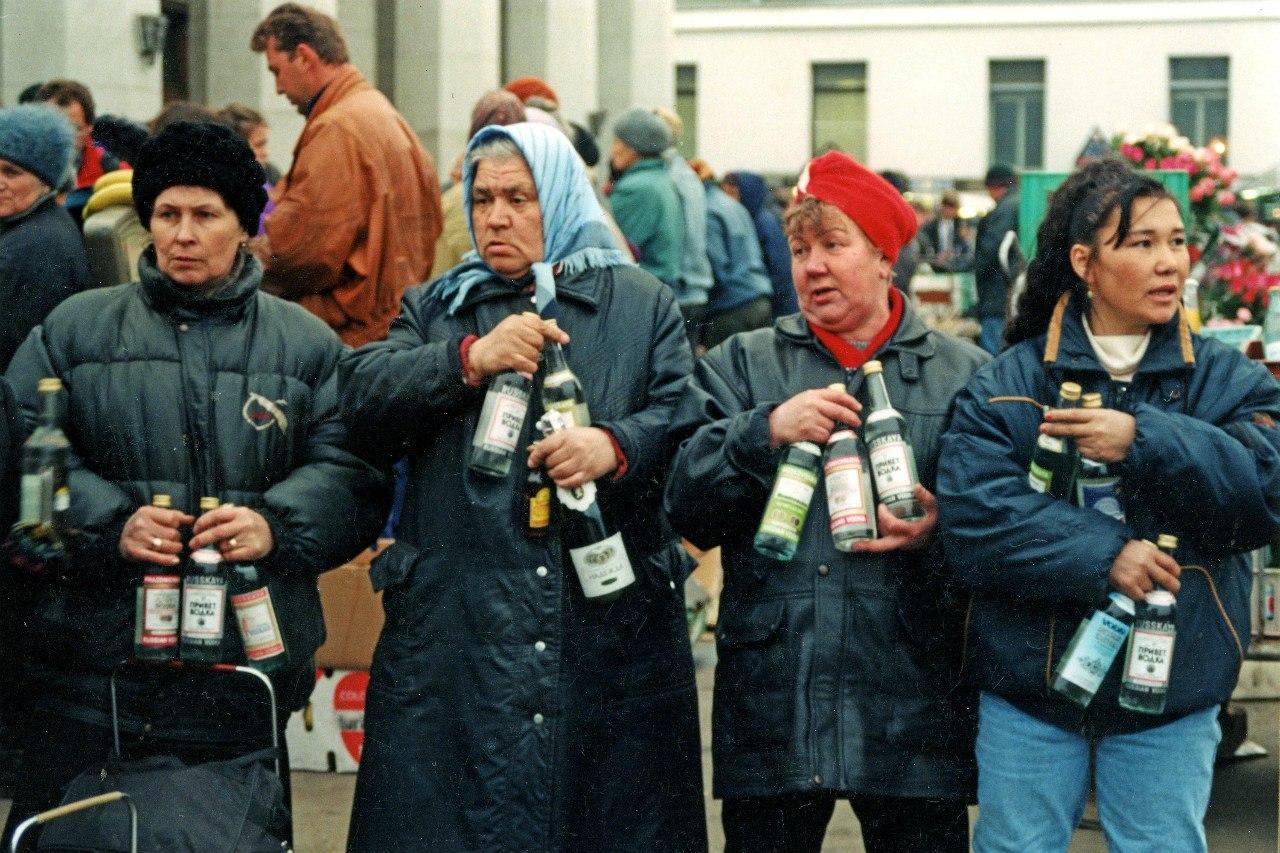 Продажа алкогольной продукции с рук у Ярославского вокзала