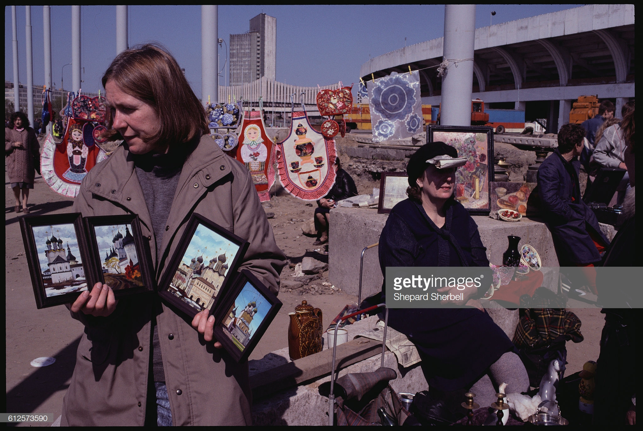 Торговля предметами современного искусства