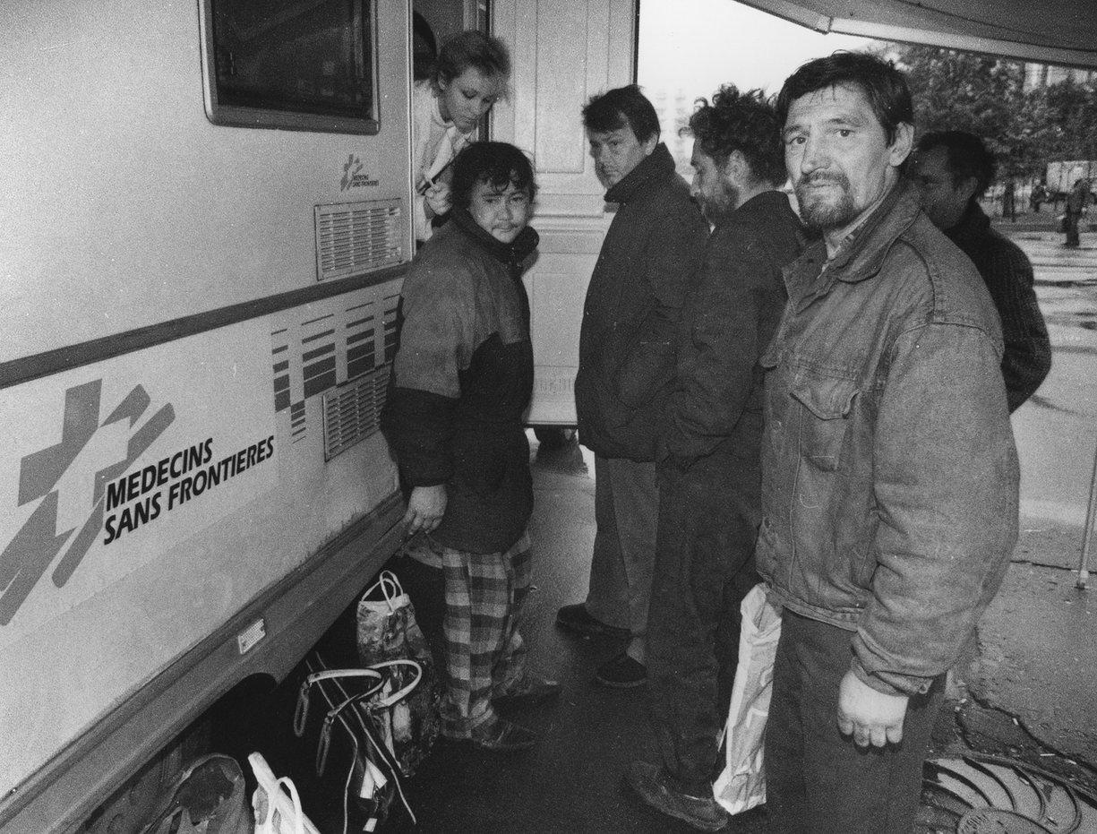 Врачи без границ и бездомные