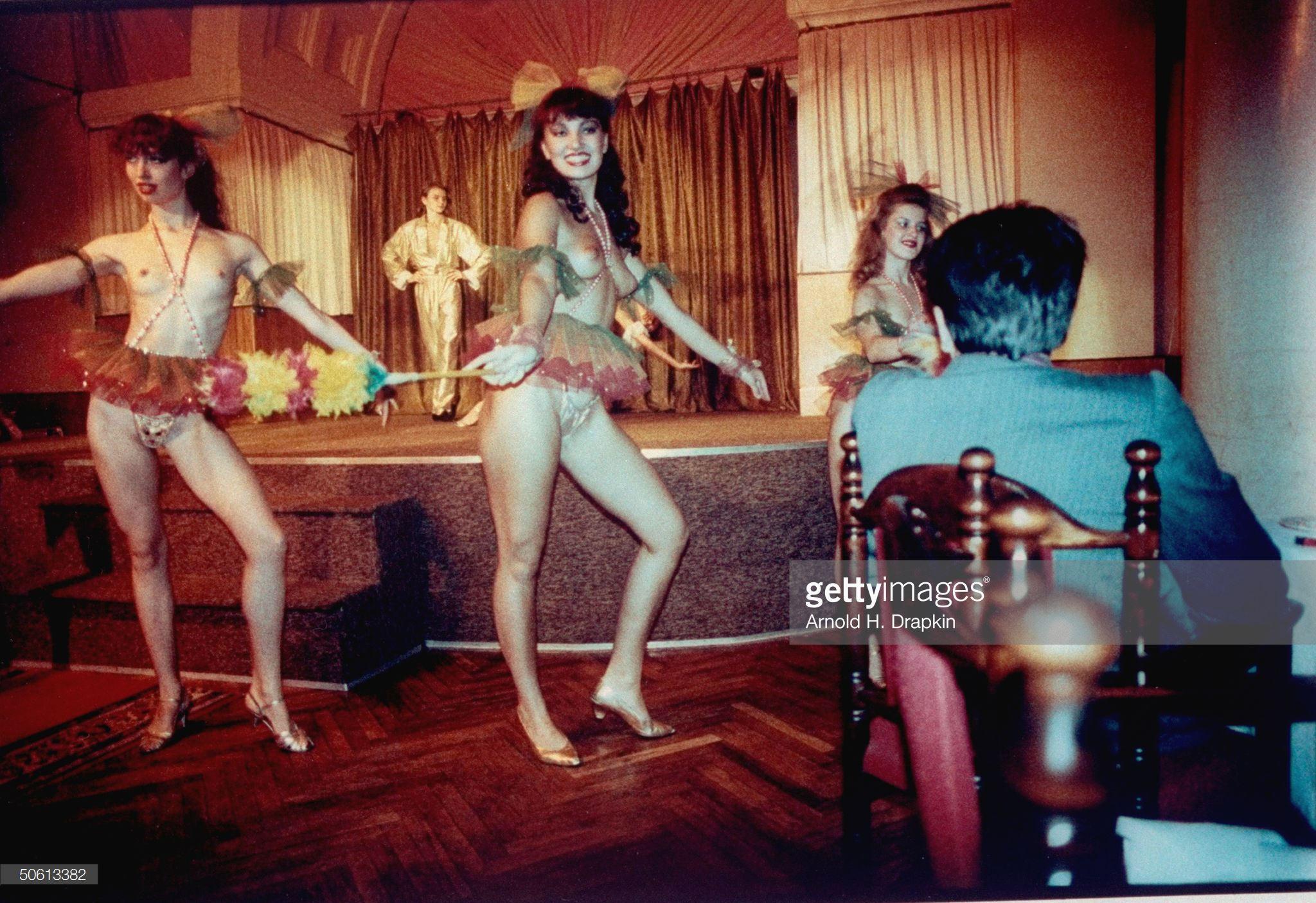 Танцы в кабаре гостиницы «Украина»