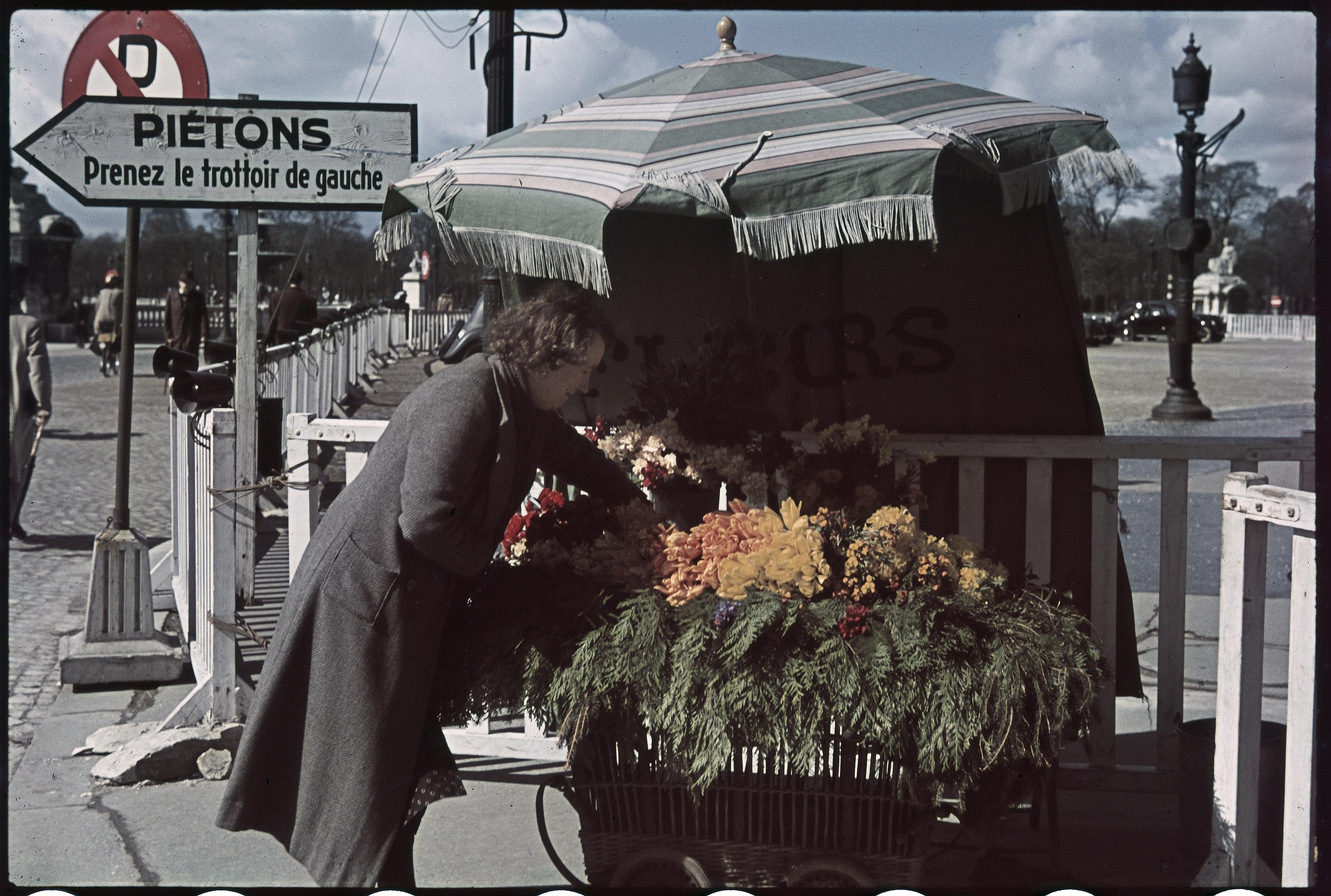 Цветочница на площади Согласия