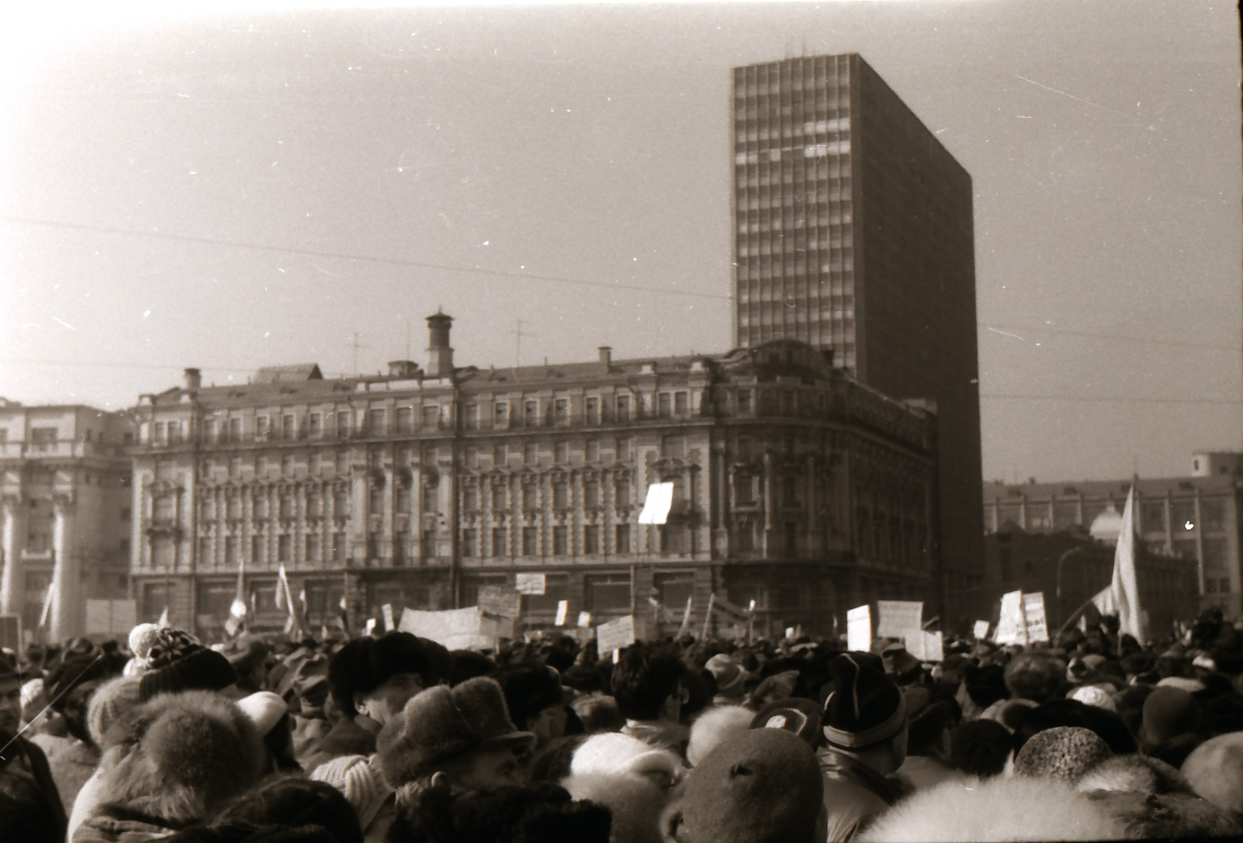Митинг на Манежной площади
