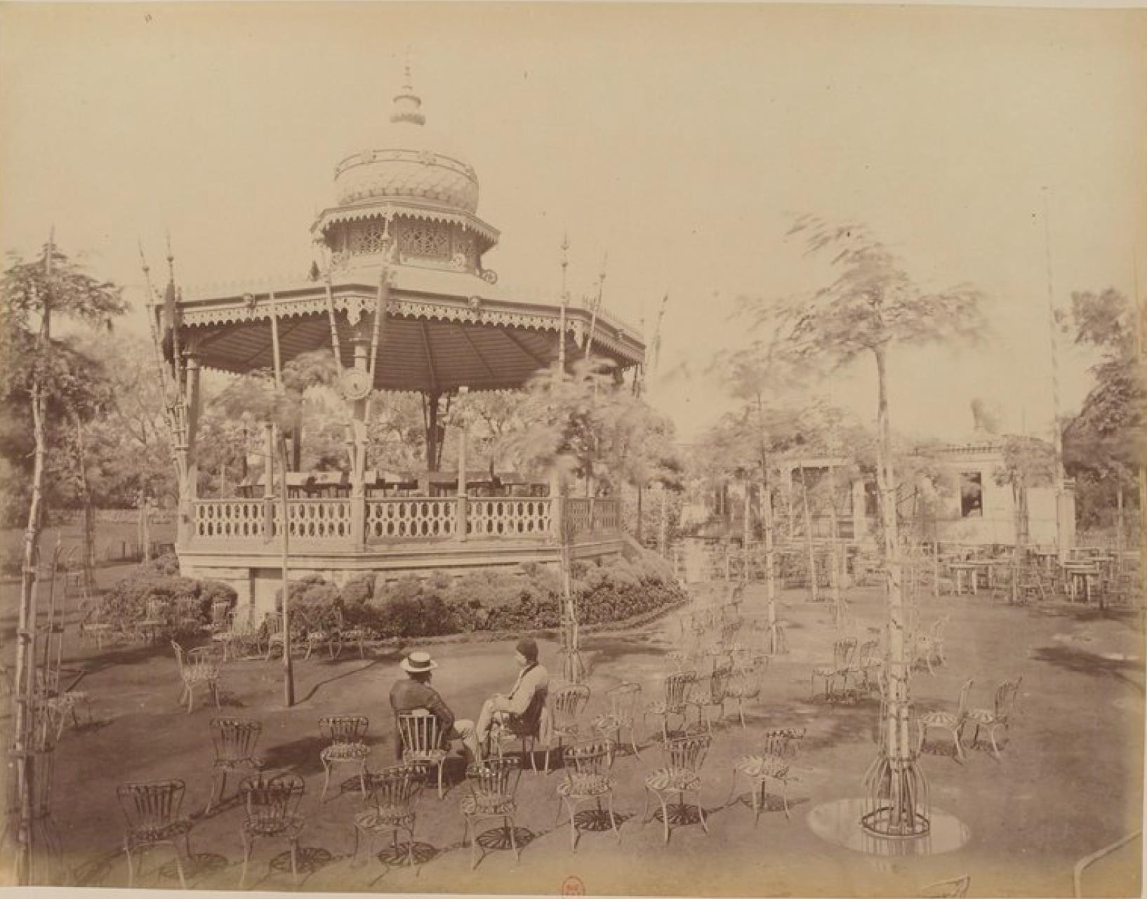 11. Киоск в саду Эзбекия