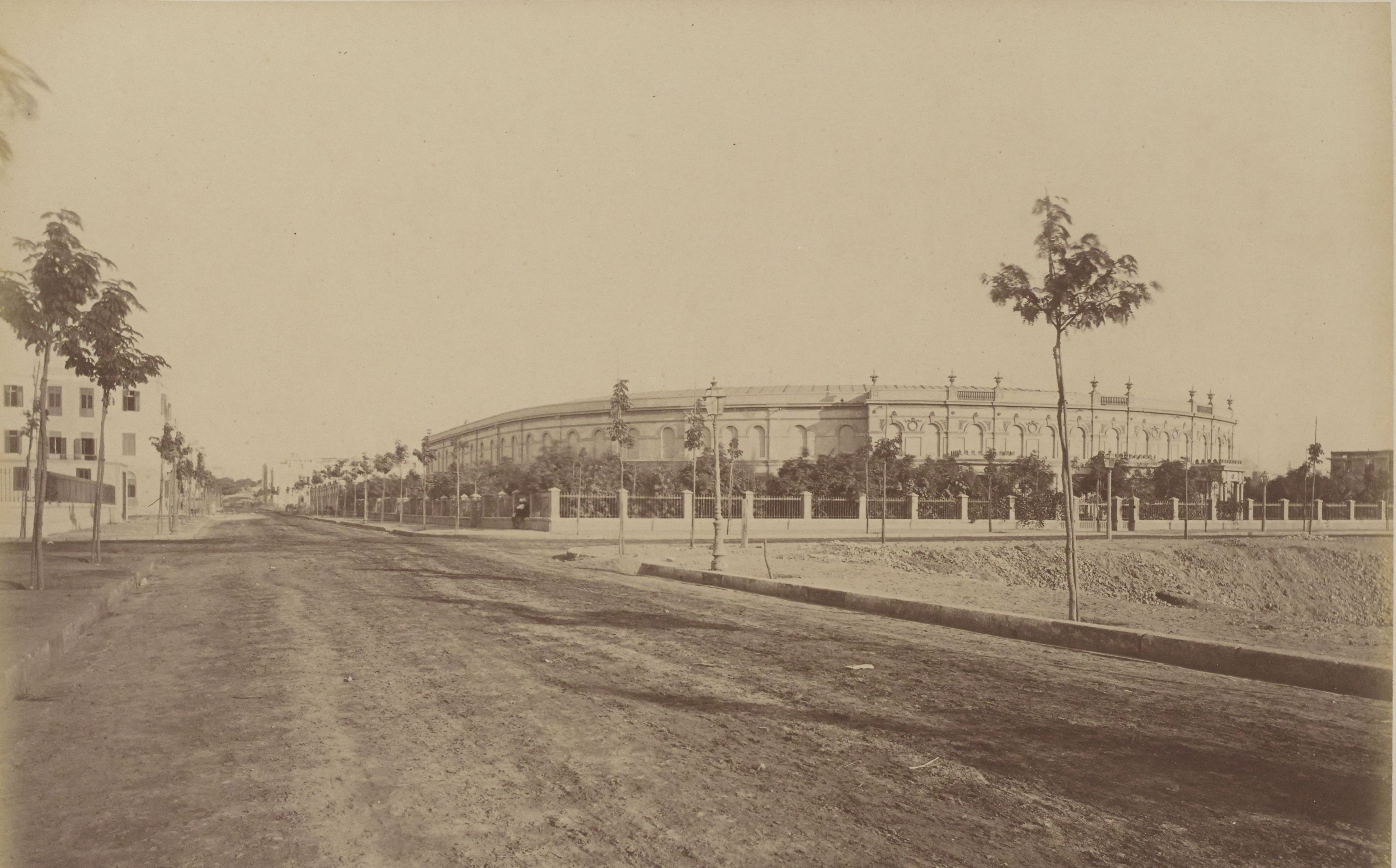 16. Вид ипподрома на углу улиц Мадабег и Манах