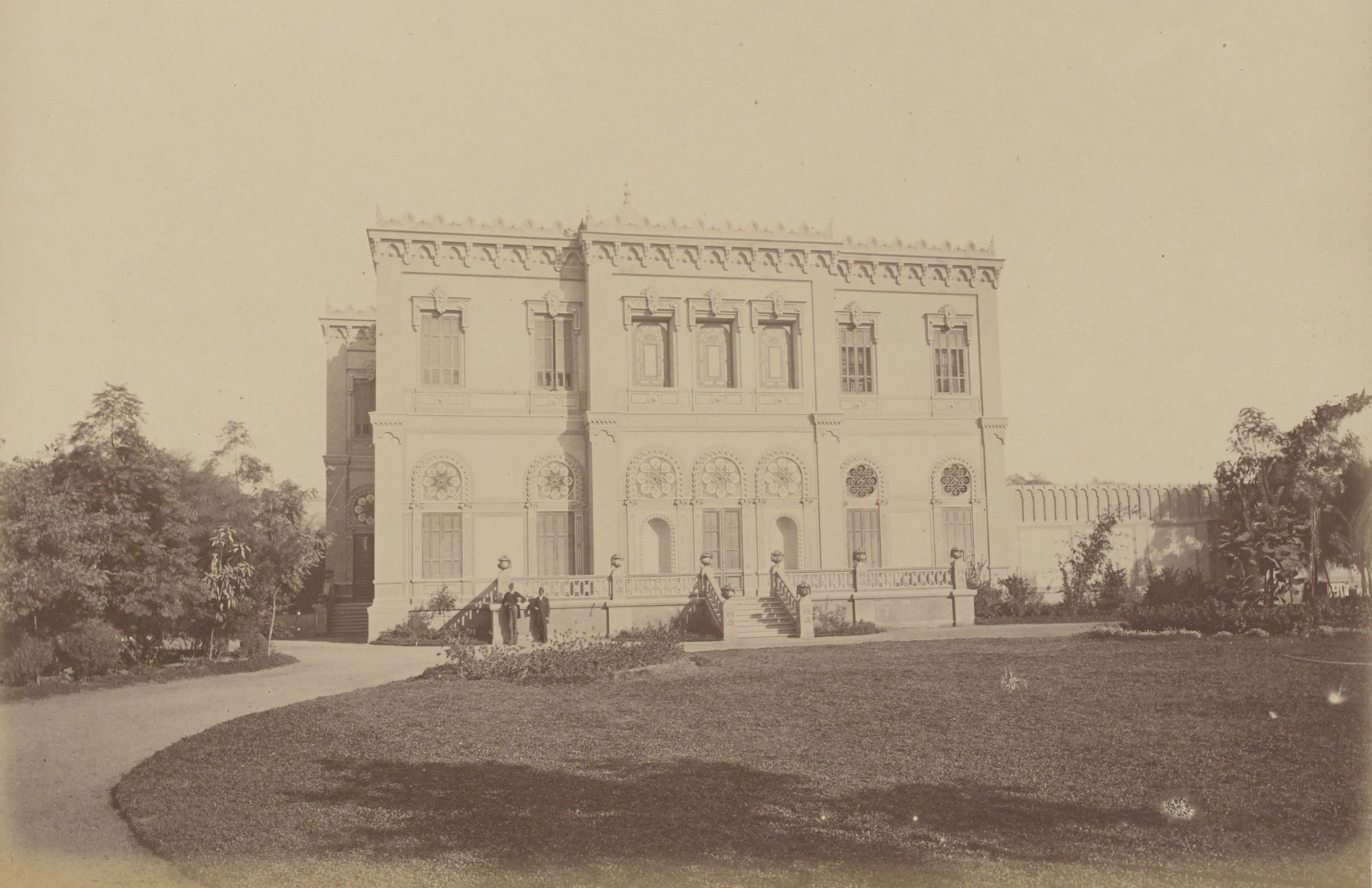 21. Дворец Мохамеда Шериф-паши, улица Каср-эль-Нил