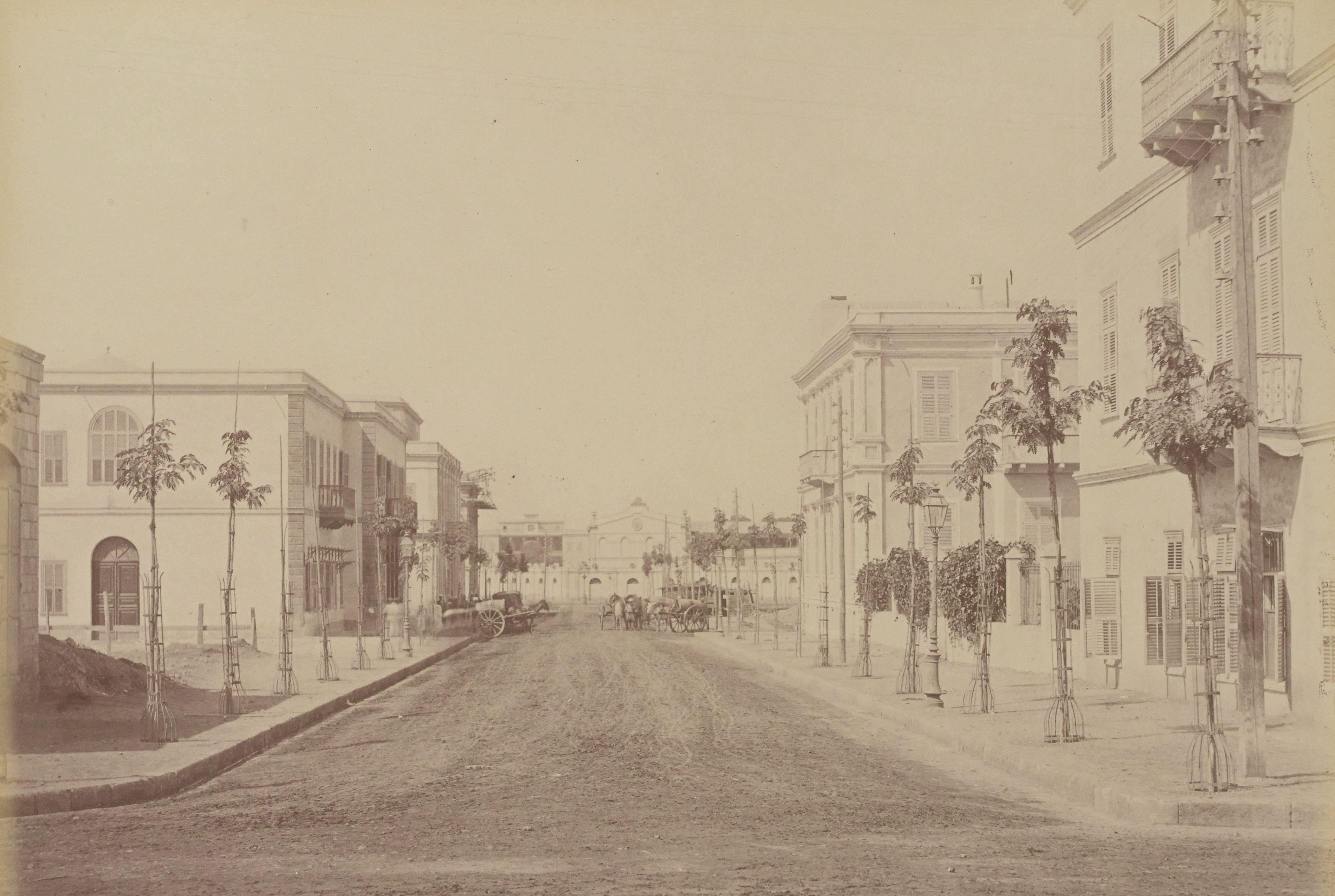 23. Вид улицы Каср-эль-Нил с площади Оперы