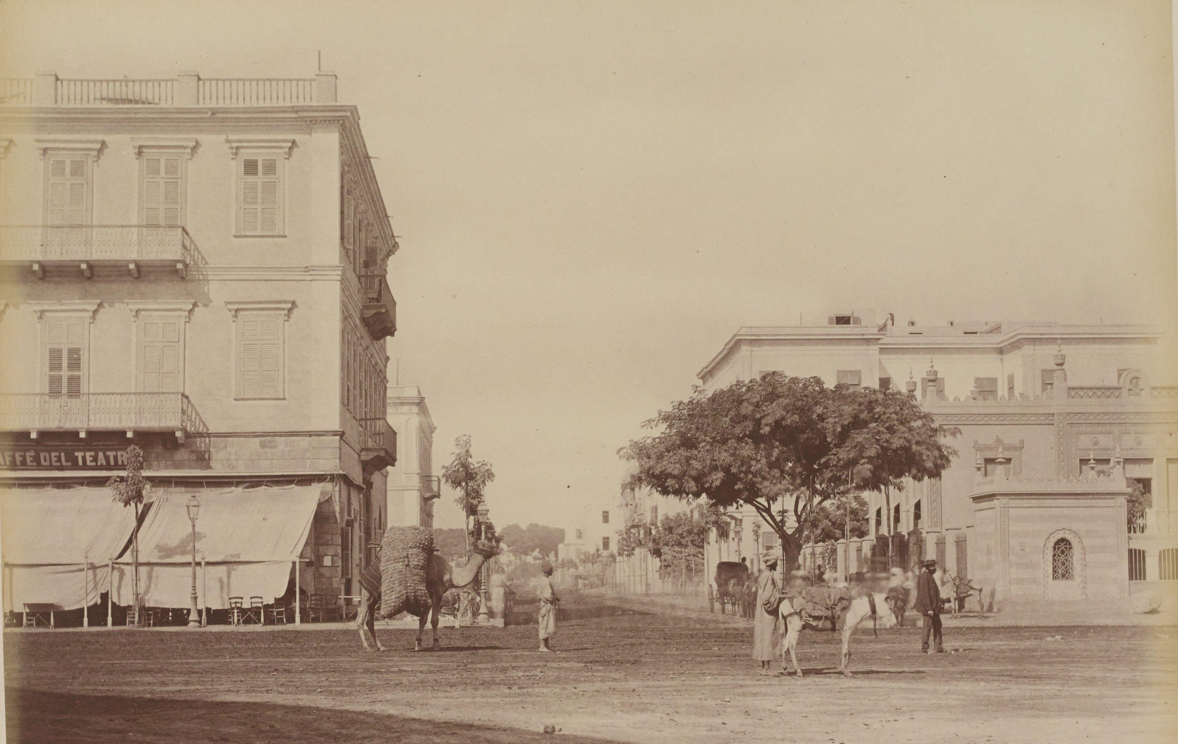 24. Вид улицы Манах с улицы Оперы