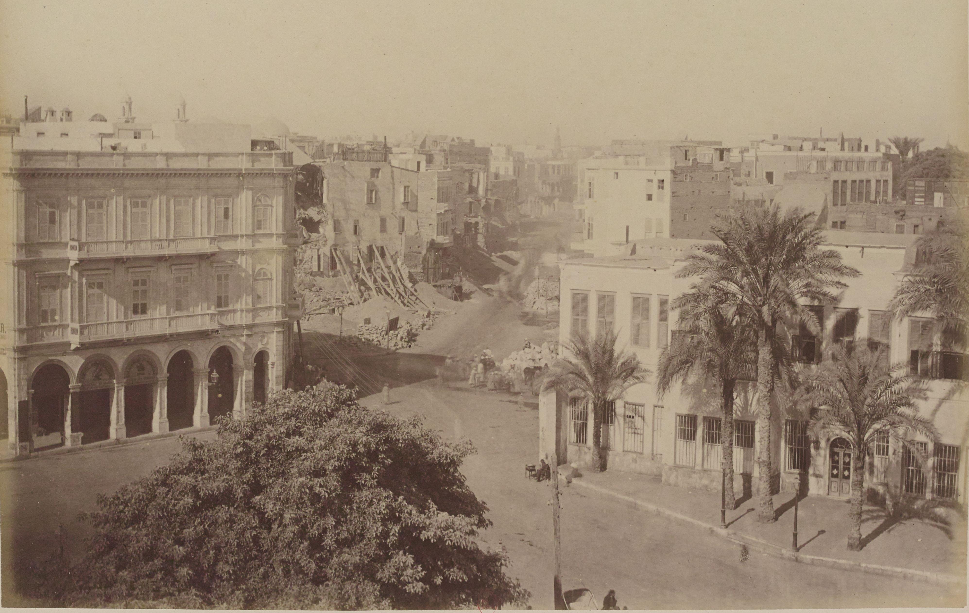 28. Расширение площади Хазиндара и улицы Клот-Бей