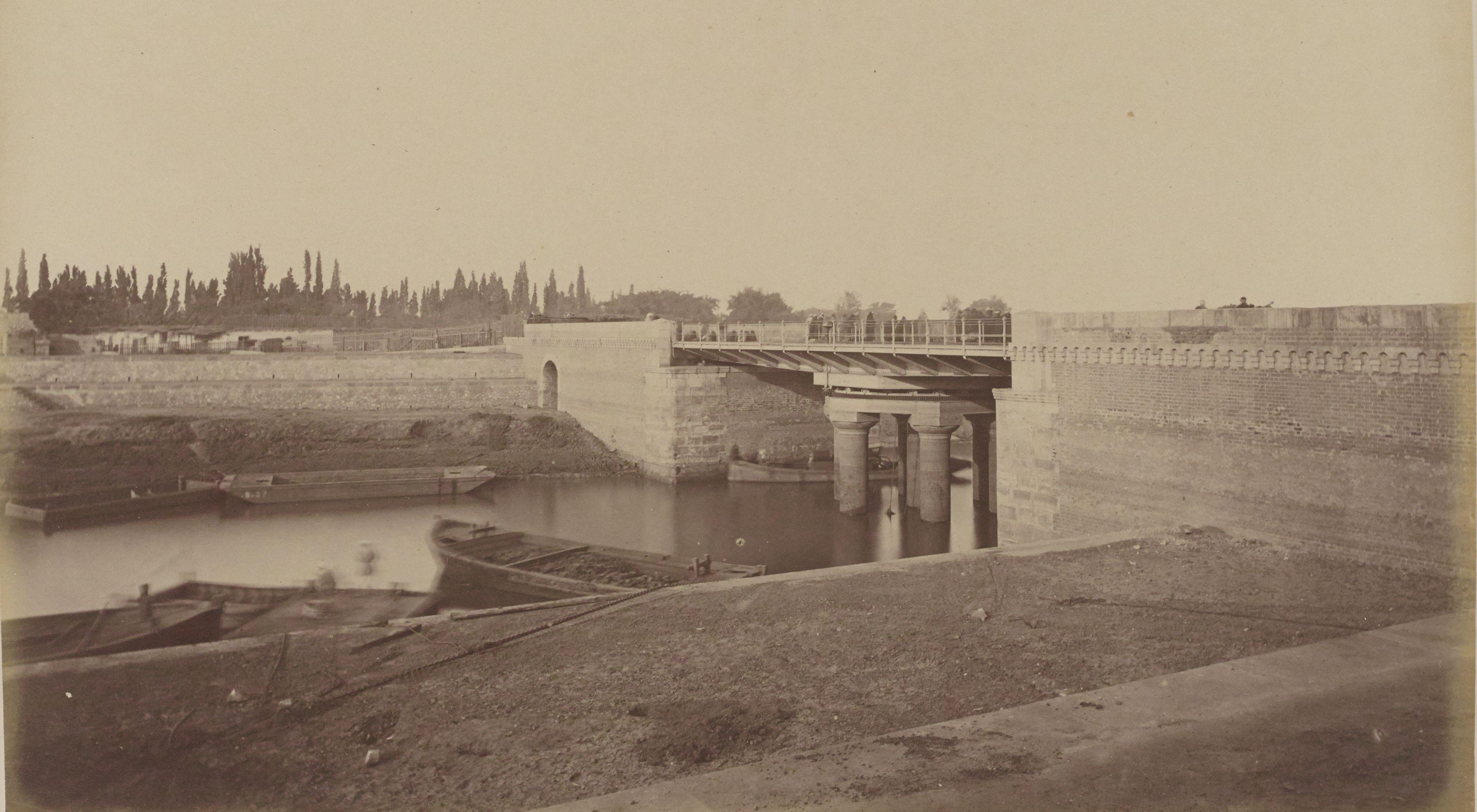 39. Мост Абу аль-Элла на Исмаилитском канале