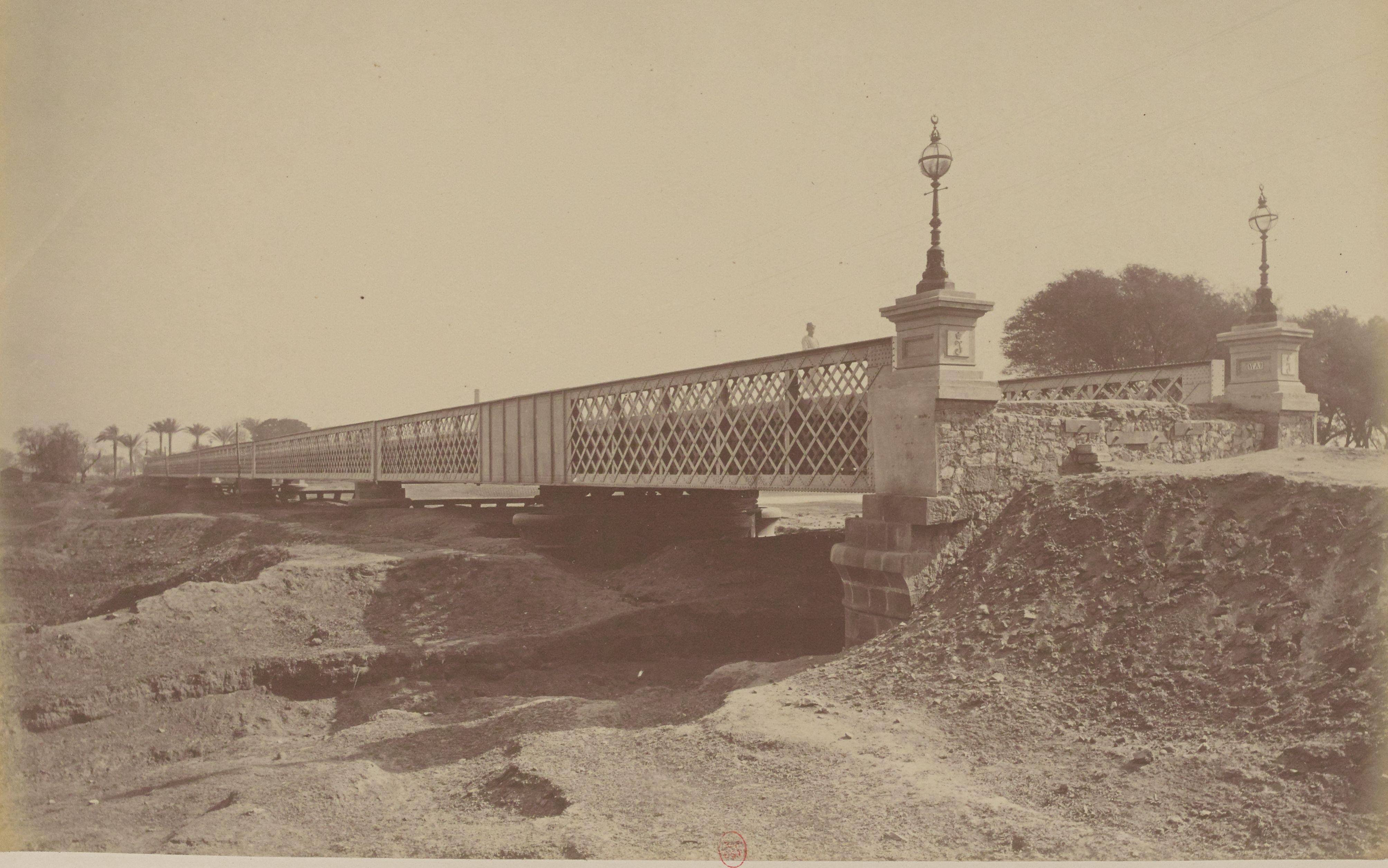 44. Мост, называемый «английским», между Газирой и Гизой