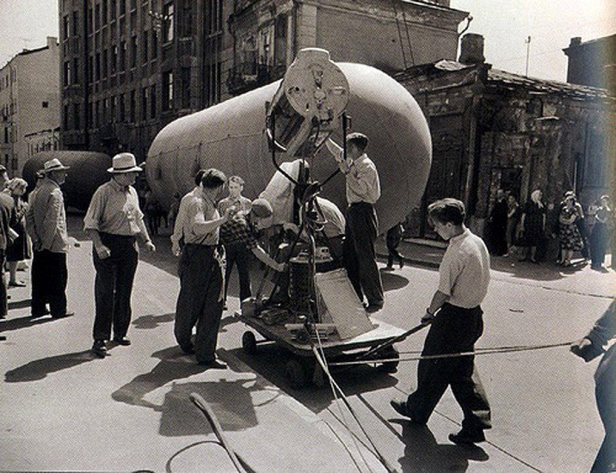 «Летят журавли».  1957