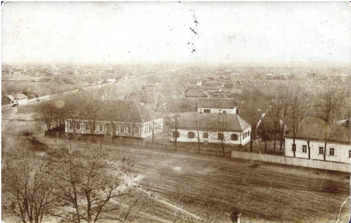 Окрестности Александровска. Село Водяное