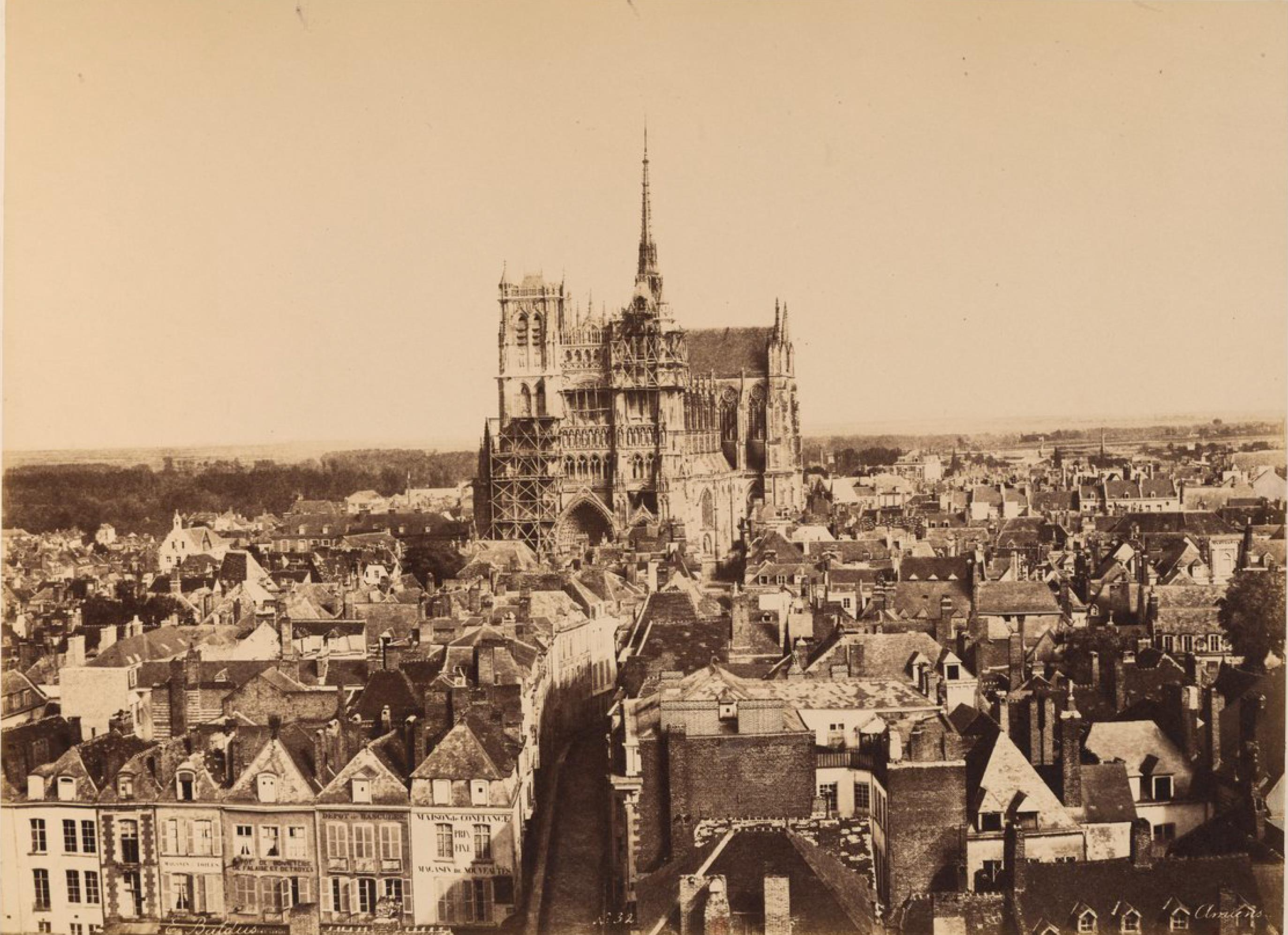 Панорама города Амьен