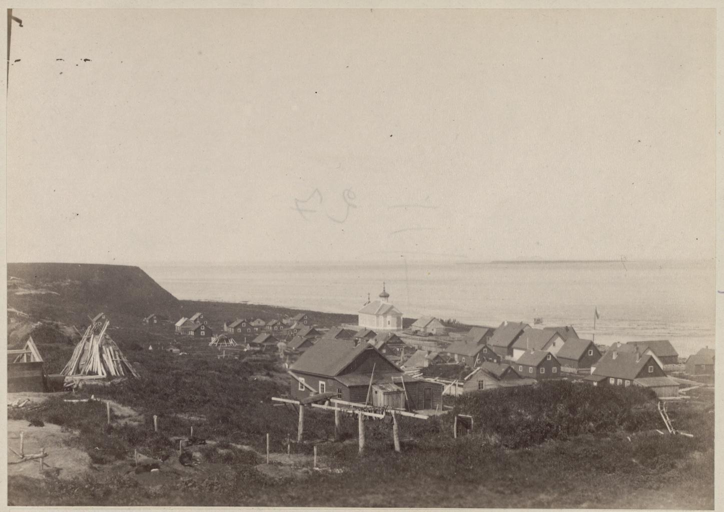 Селение Никольское на острове Беринга