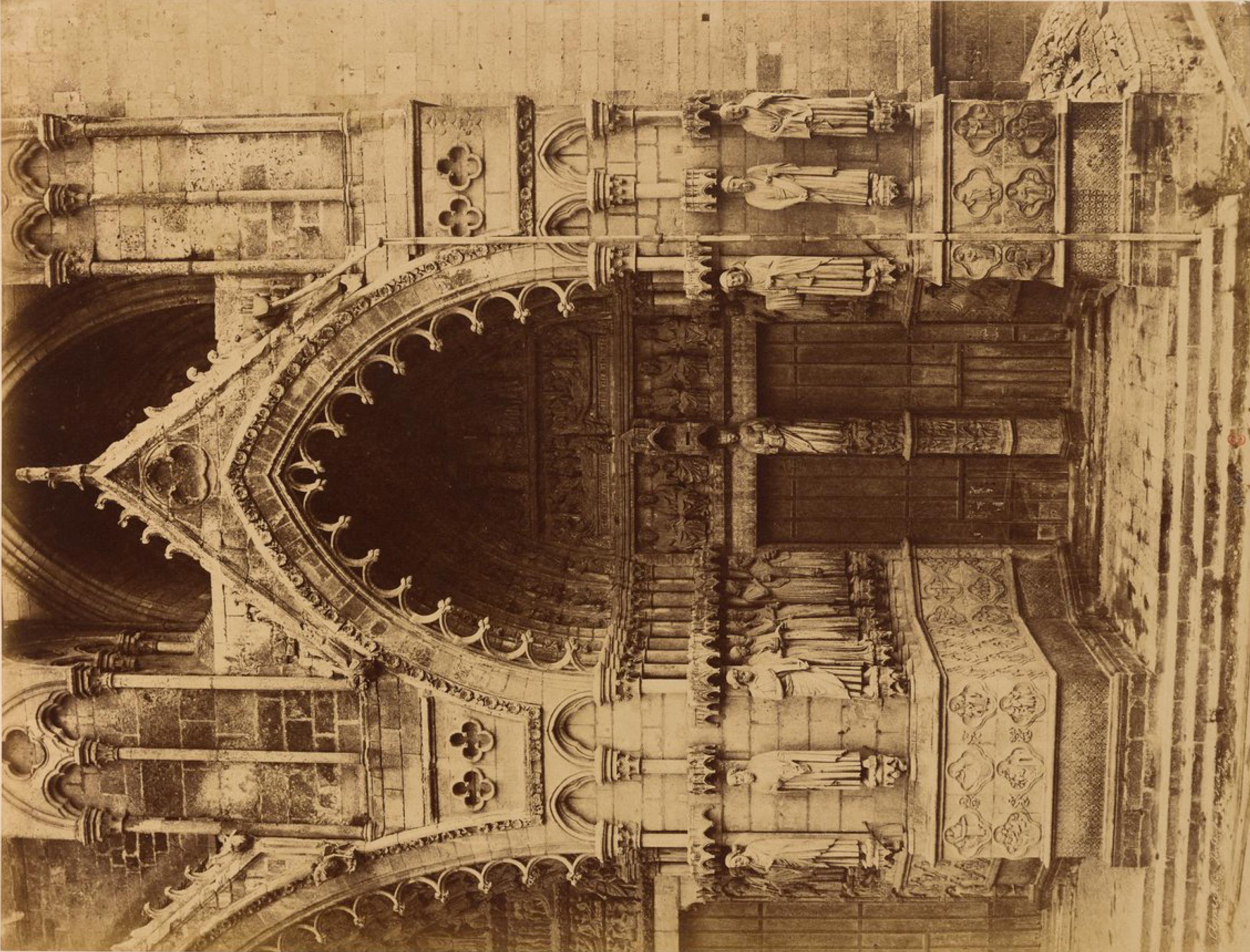 Портал Амьенского собора
