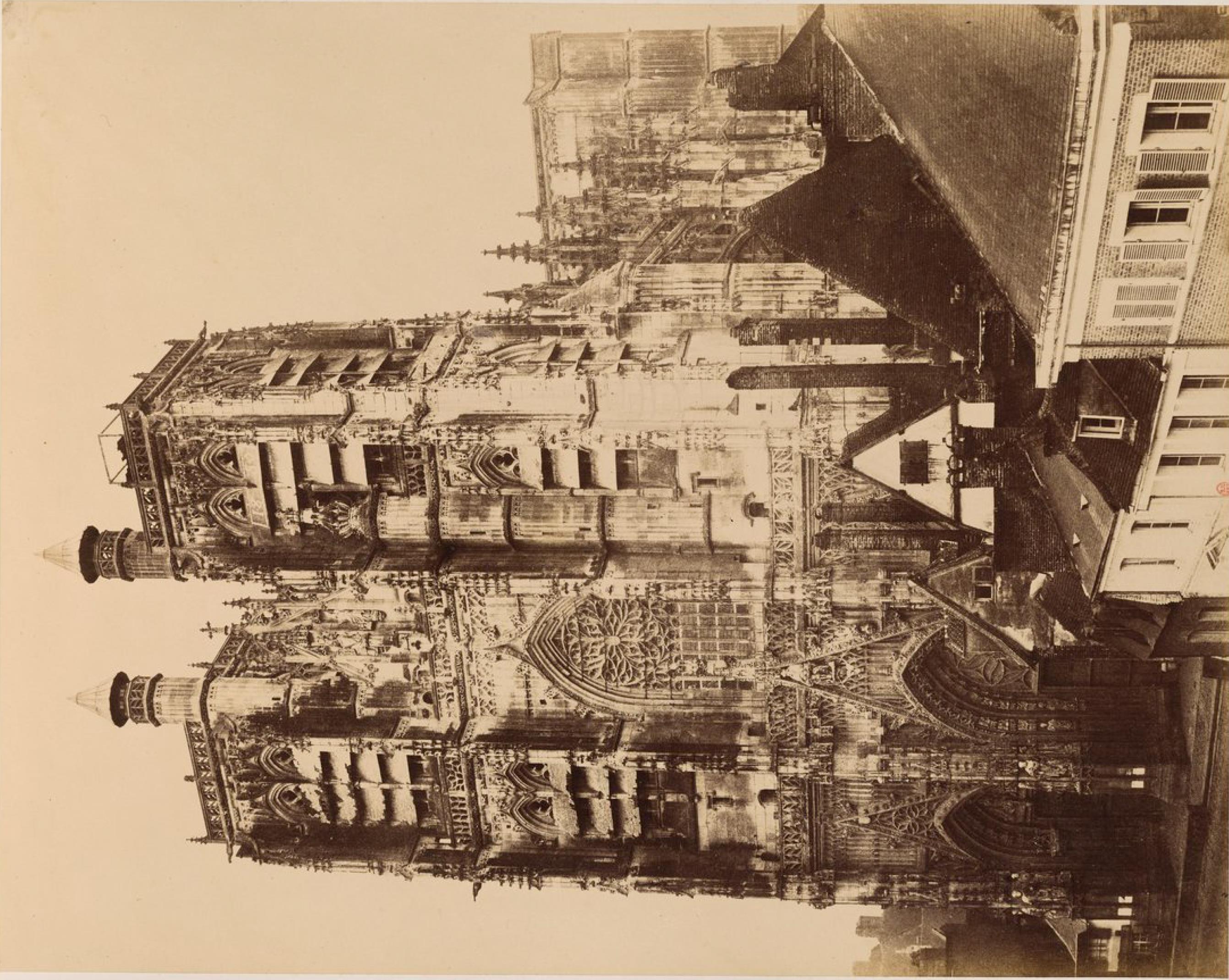 Абвиль. Готический собор Святого Вульфрама