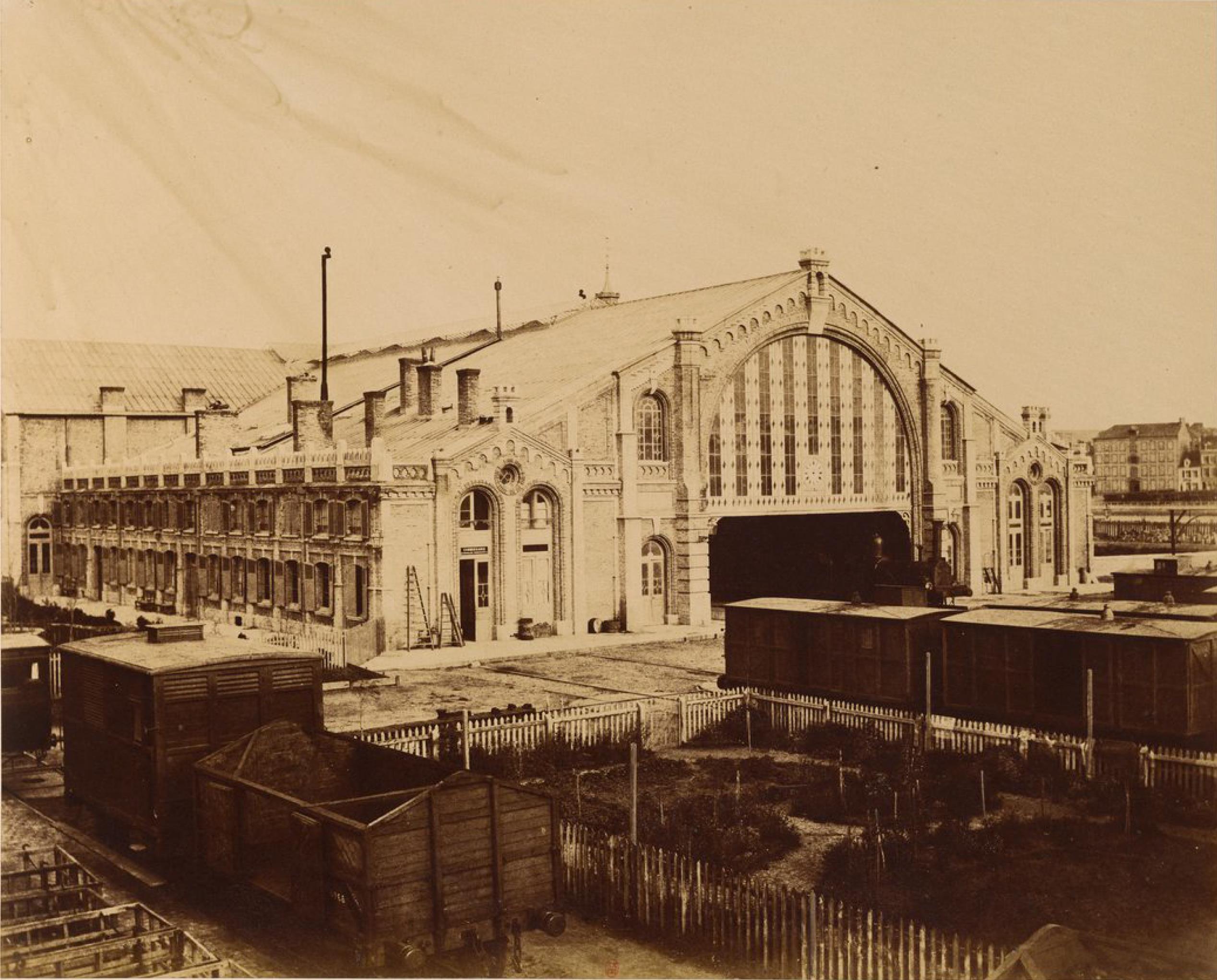 Станция Булонь