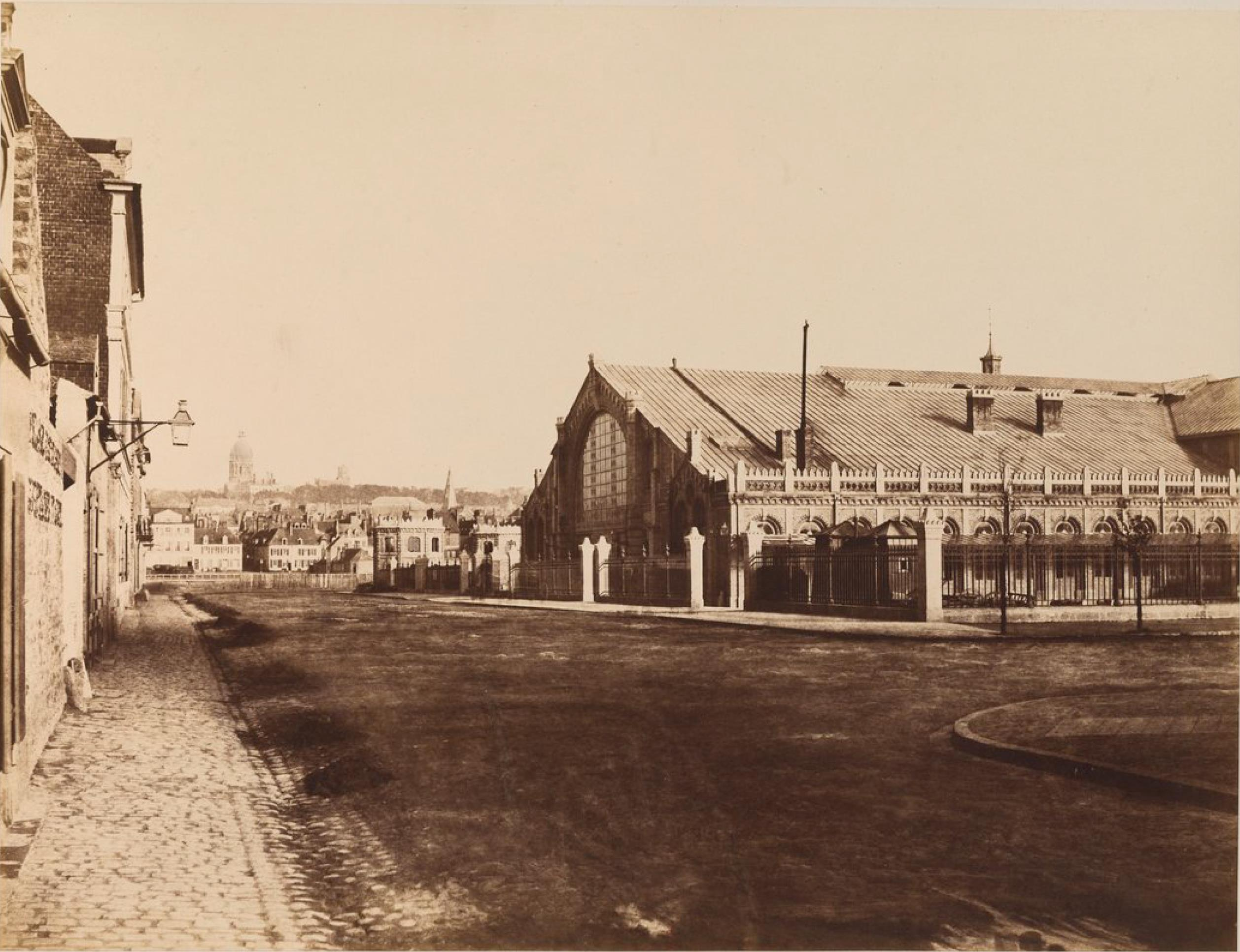 Южная часть железнодорожной станции Булонь