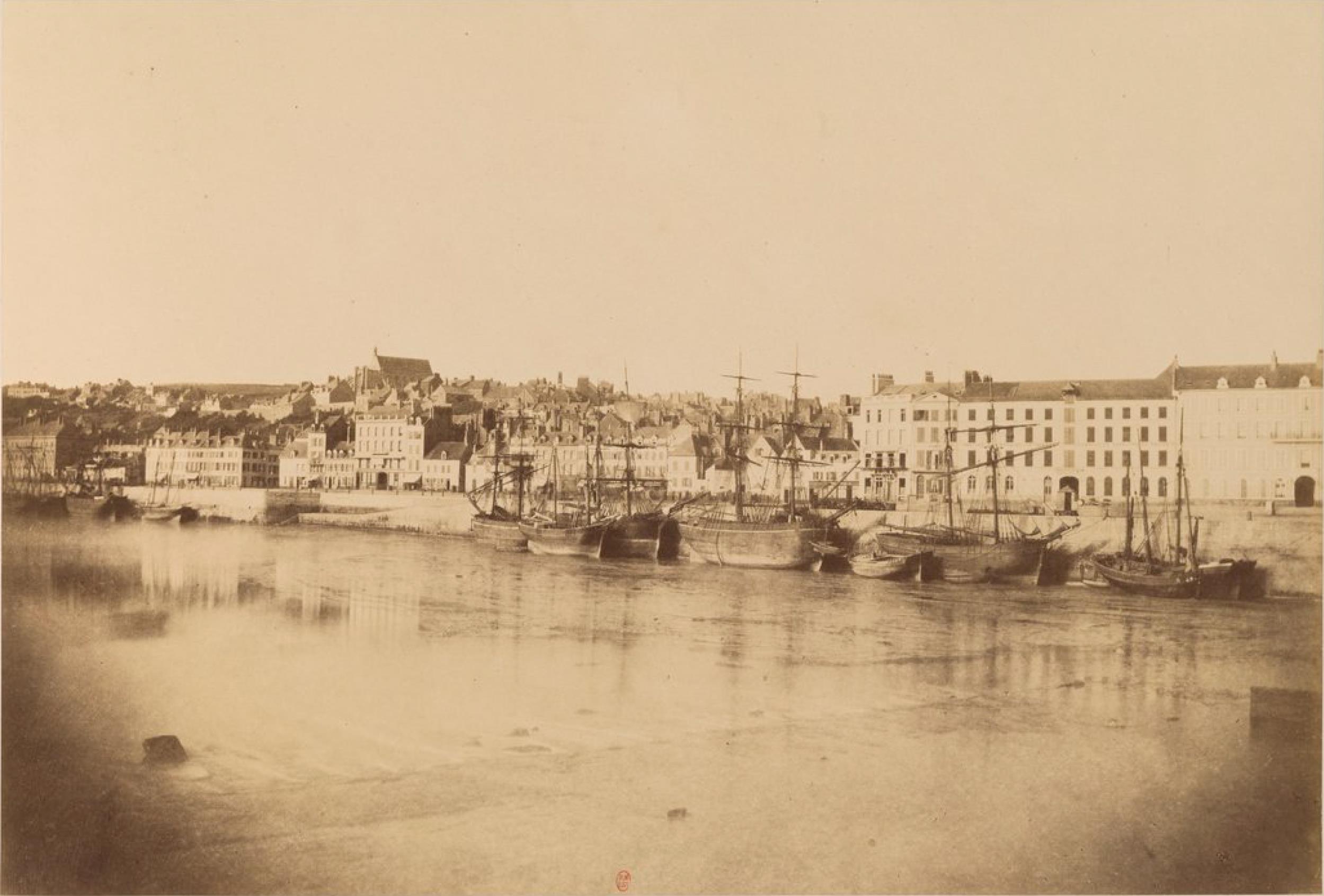 Вид на порт Булонь