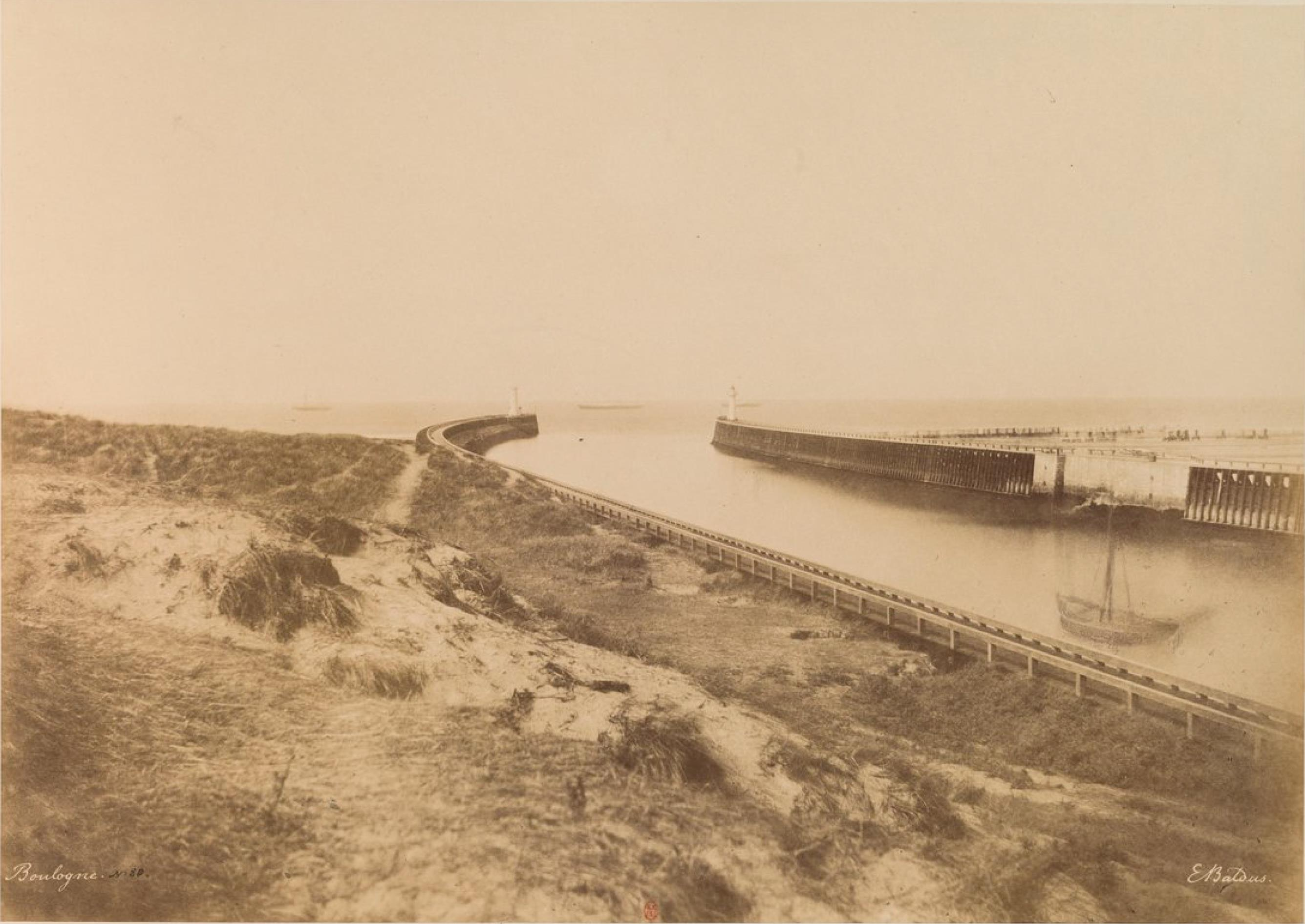 Вход в порт Булонь