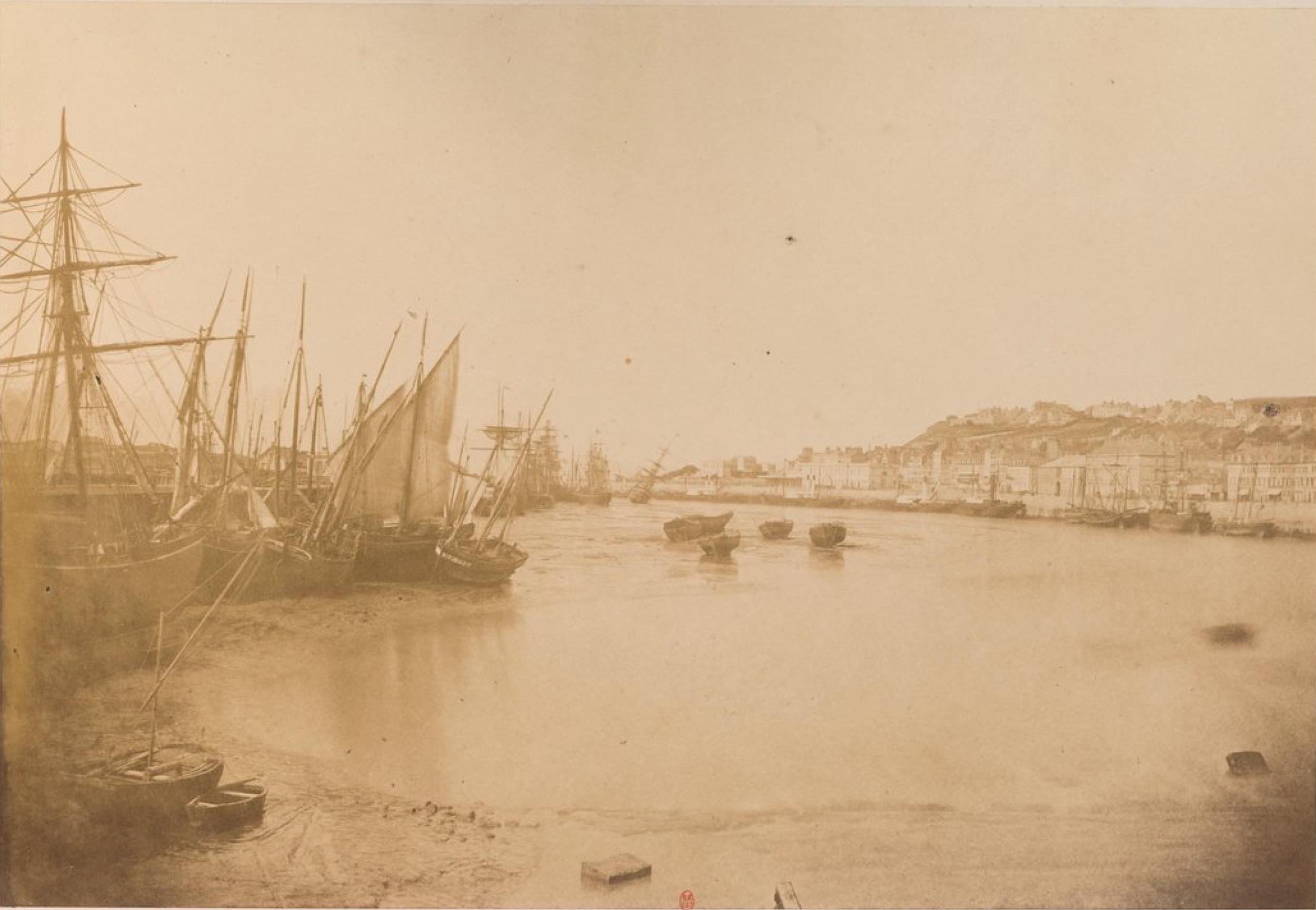 Лодки во время отлива (Порт Булонь)