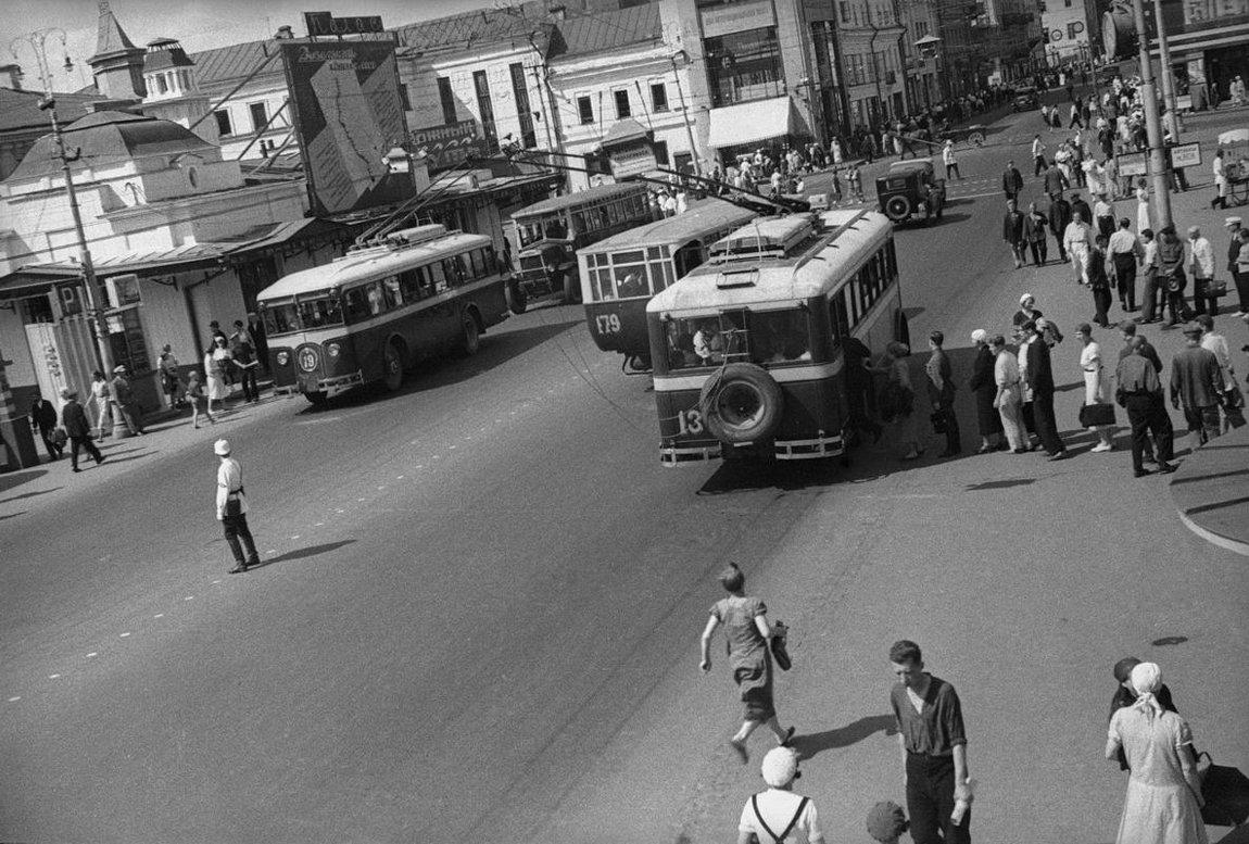 1930-е. Городские тролейбусы