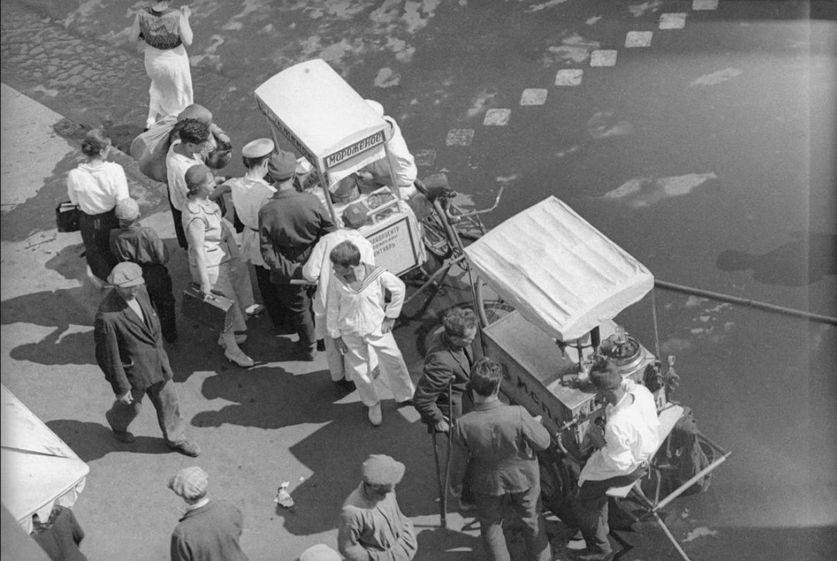 1930-е. На московских улицах