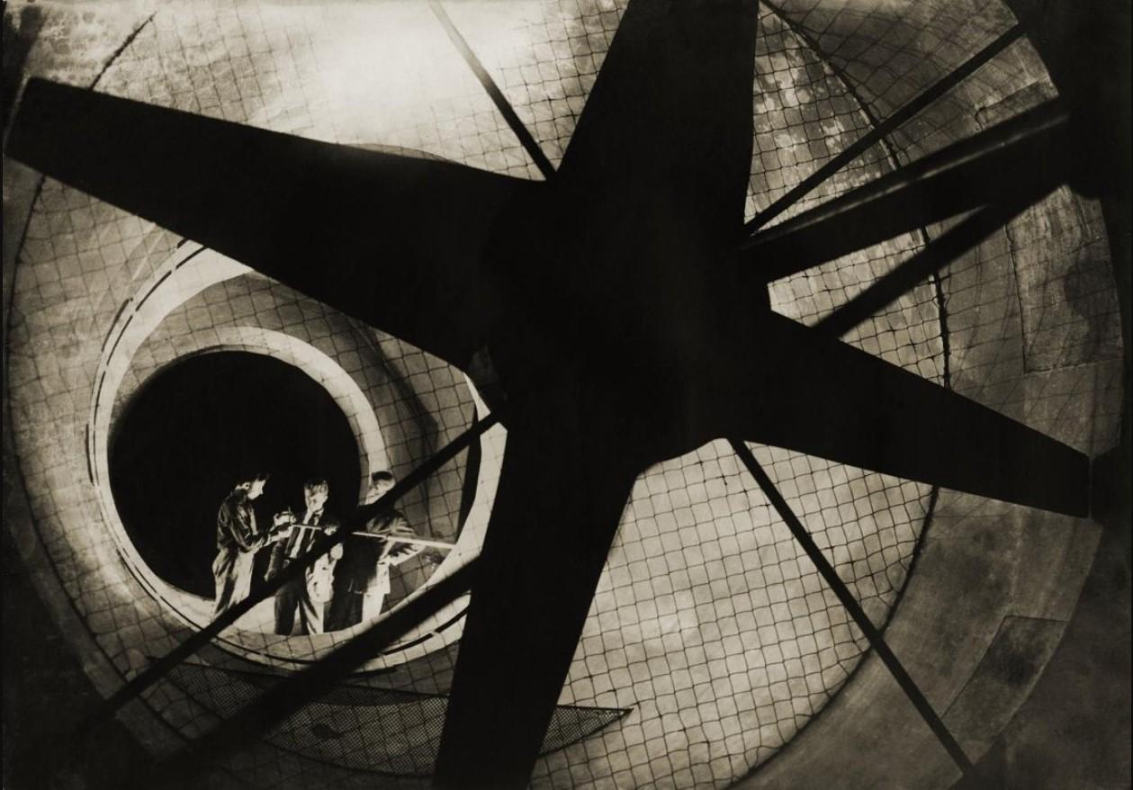 1934.  Центральный аэрогидродинамический институт (ЦАГИ). Аэродинамическая труба